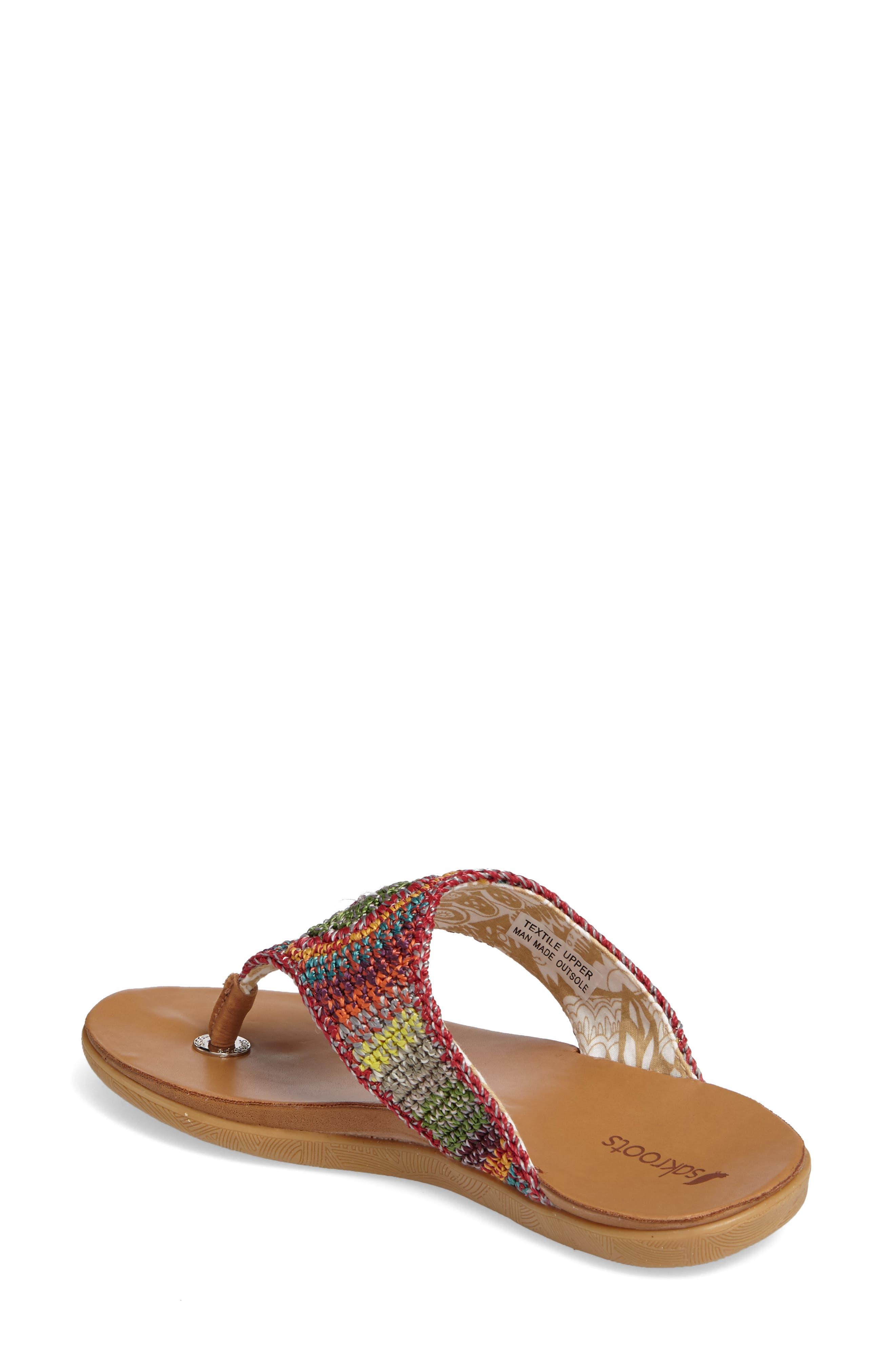 Alternate Image 2  - Sakroots Sarria Flip Flop (Women)