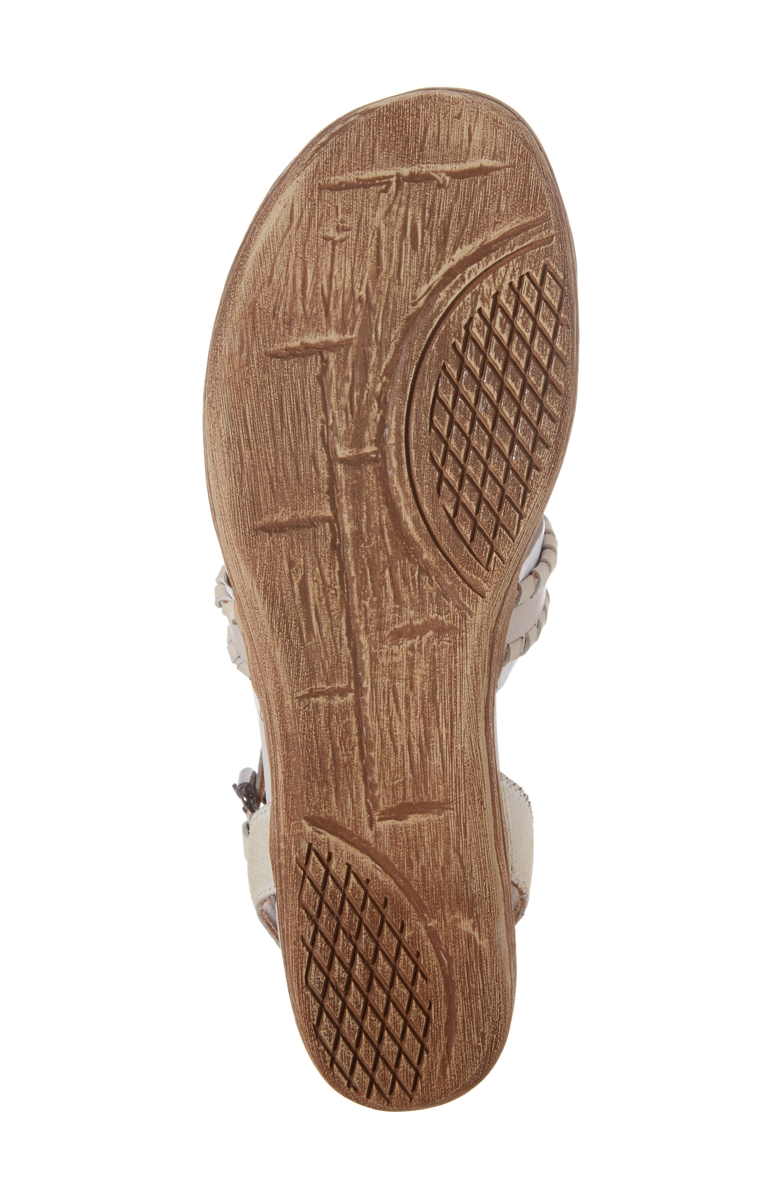 Alternate Image 6  - OTBT Celestial V-Strap Wedge Sandal (Women)