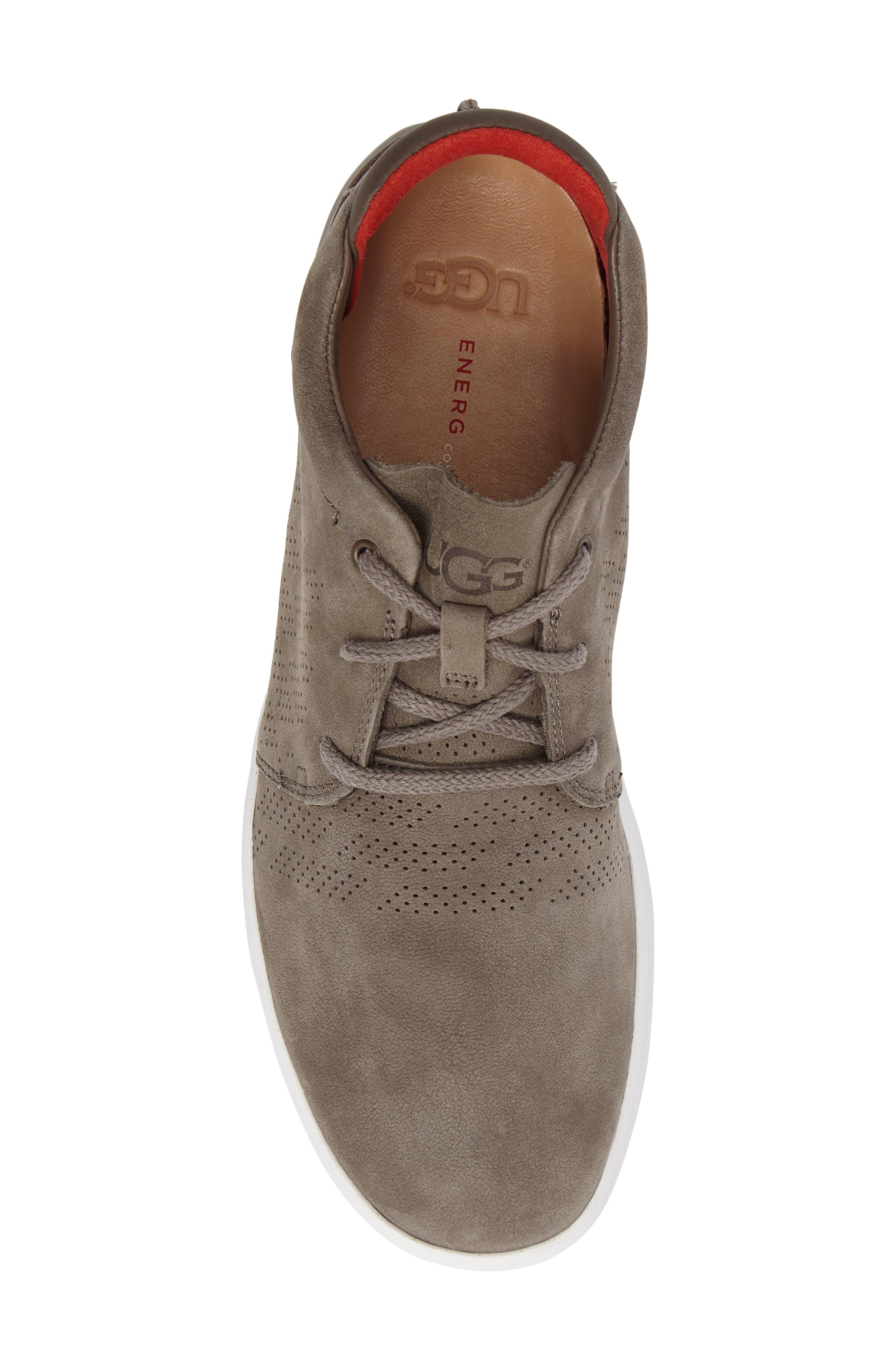 Larken Chukka Sneaker,                             Alternate thumbnail 5, color,                             Mole