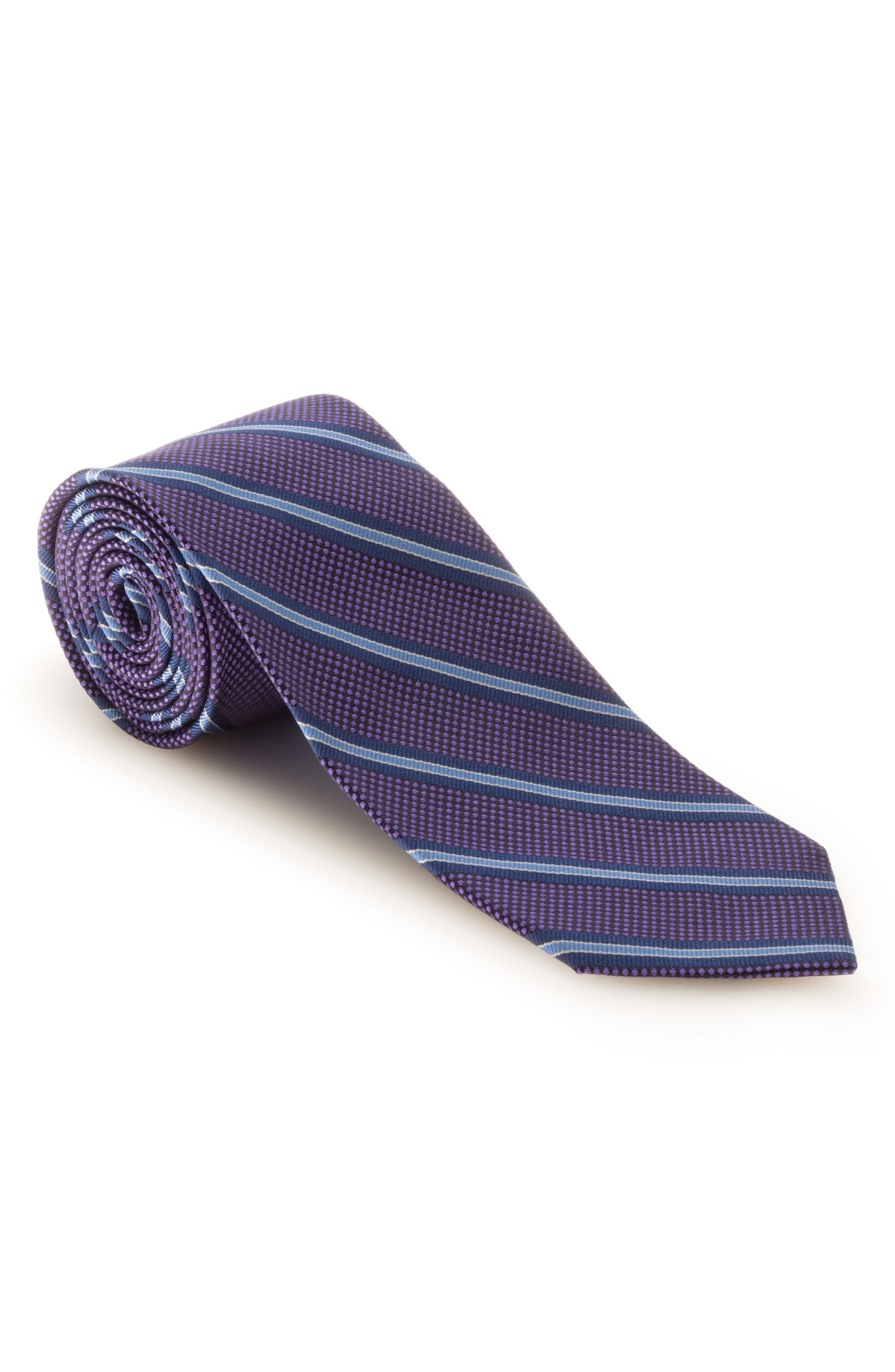 Main Image - Robert Talbott Stripe Silk Tie