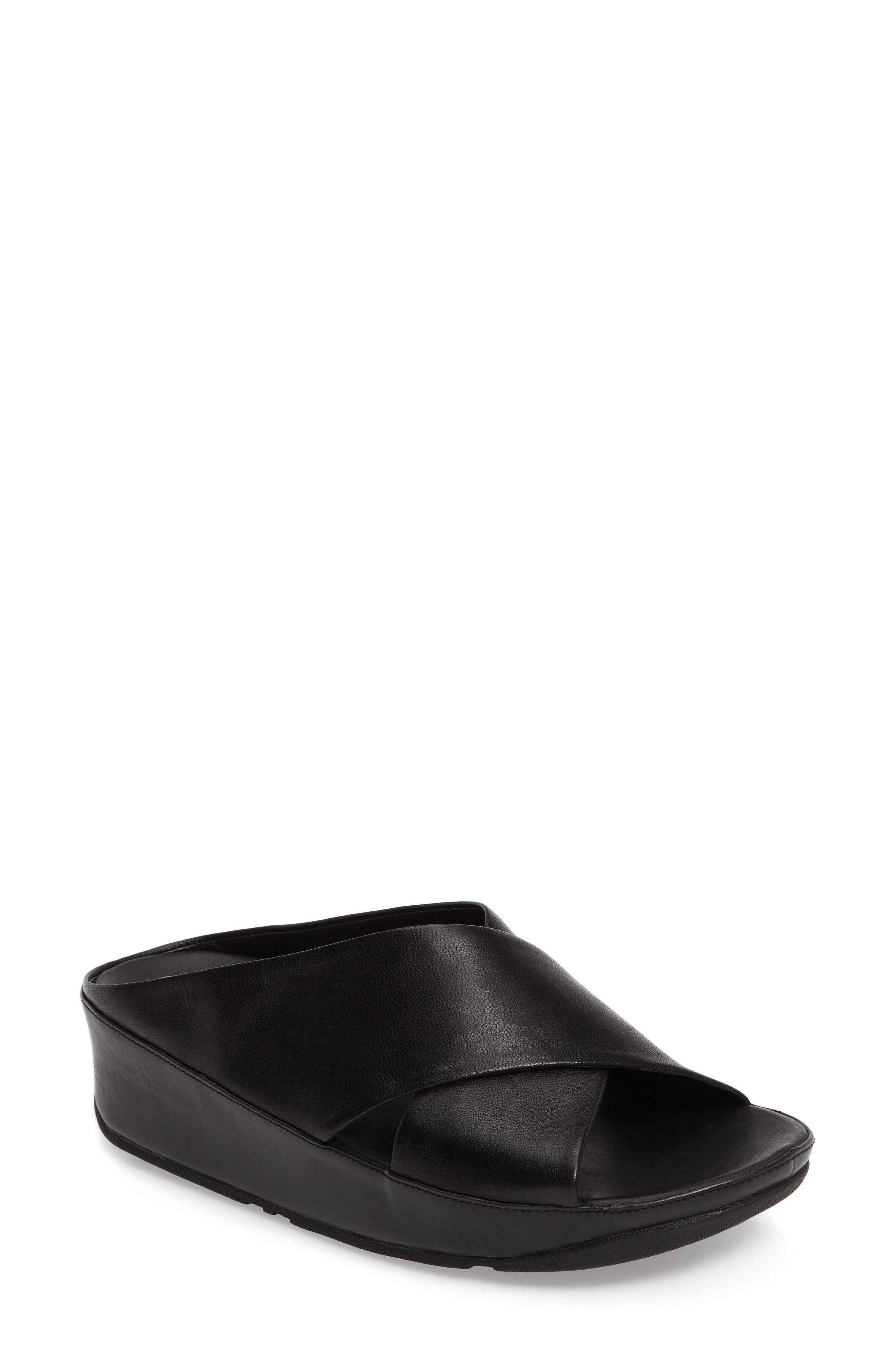 FitFlop Kys Backless Platform Wedge (Women)