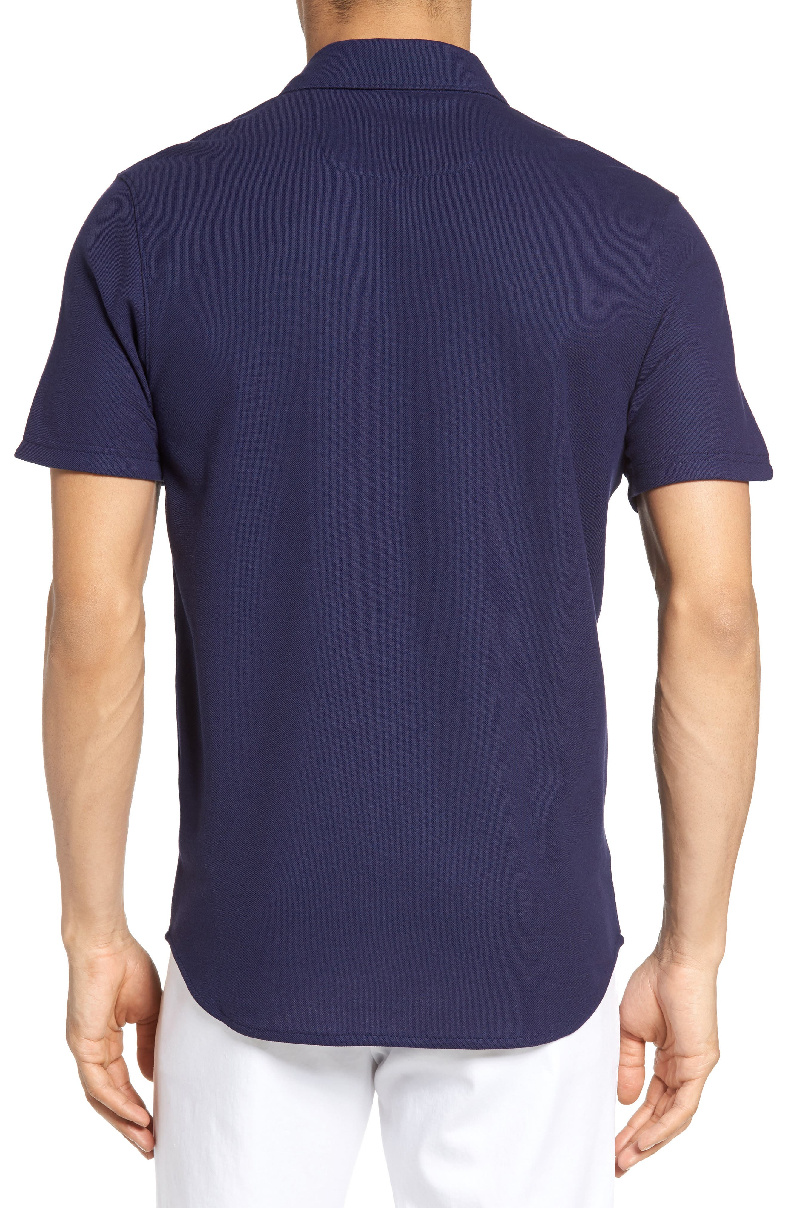 Alternate Image 2  - Zachary Prell Palmetto Pima Cotton Shirt