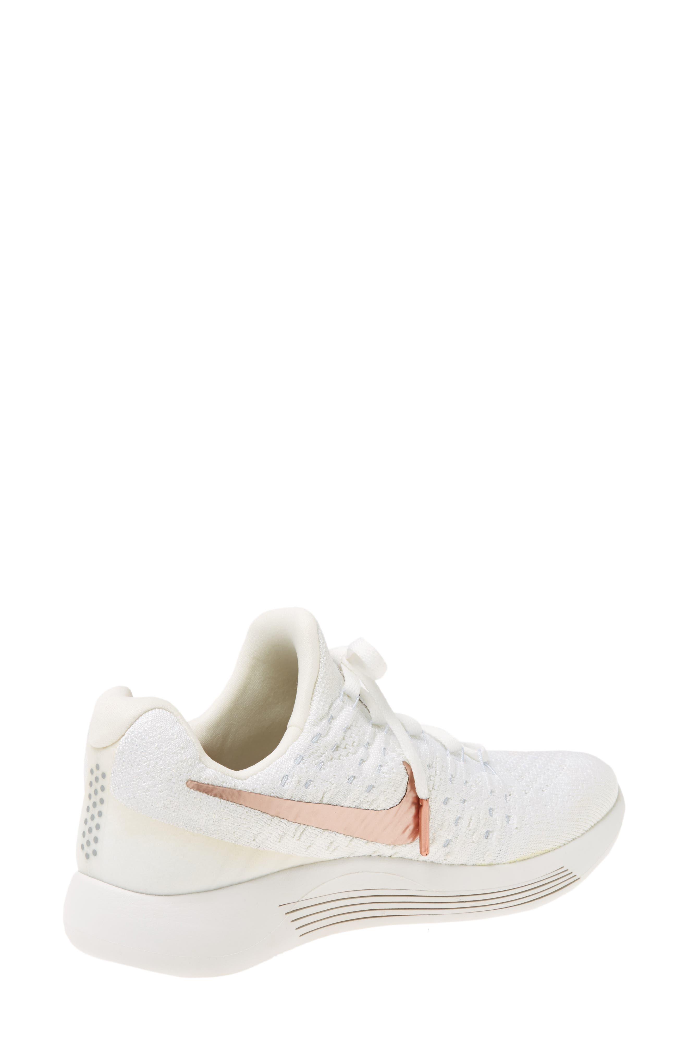 Alternate Image 2  - Nike LunarEpic Low Flyknit 2 X-Plore Running Shoe (Women)
