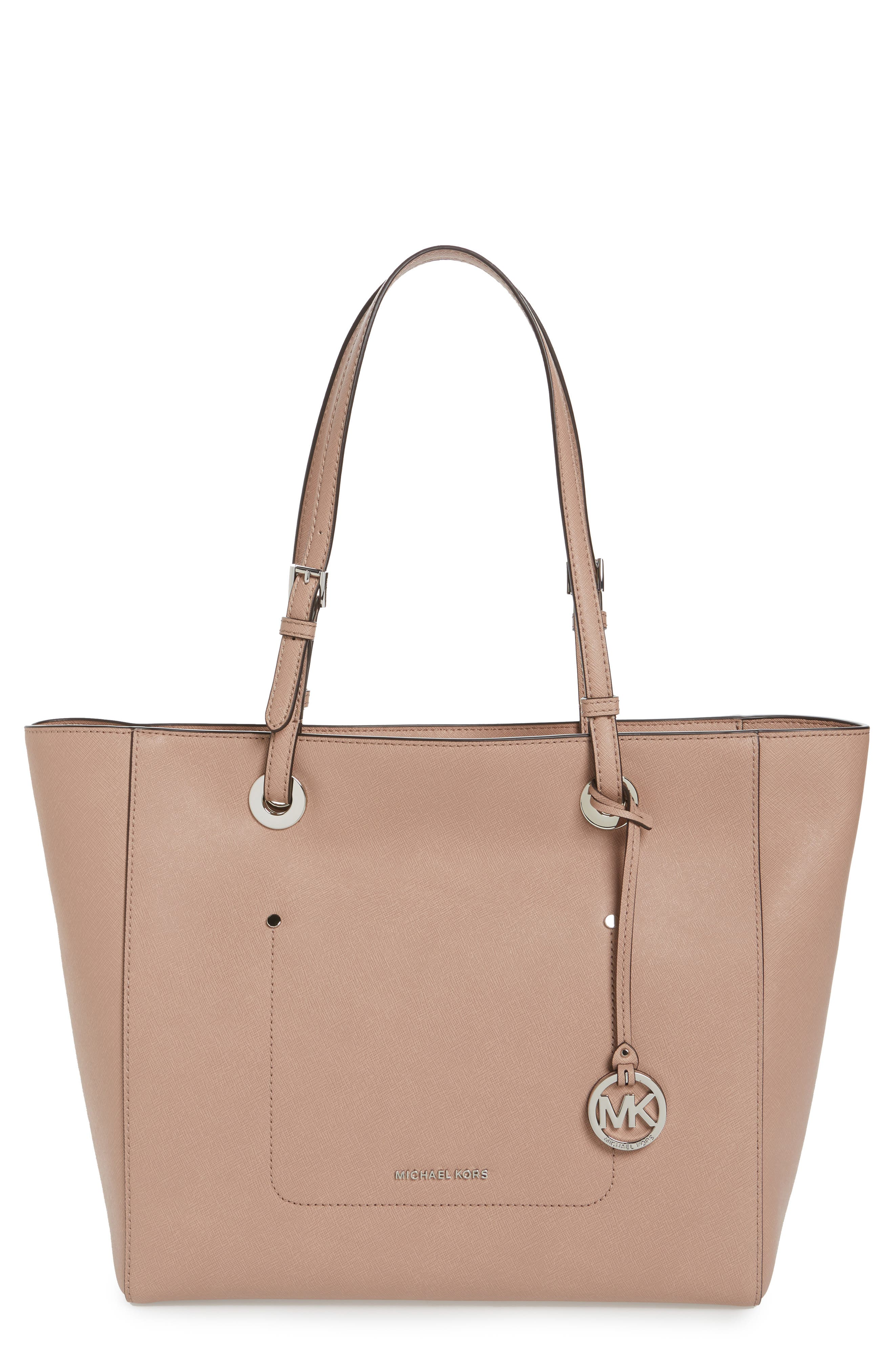 Alternate Image 1 Selected - MICHAEL Michael Kors Large Walsh Leather Tote