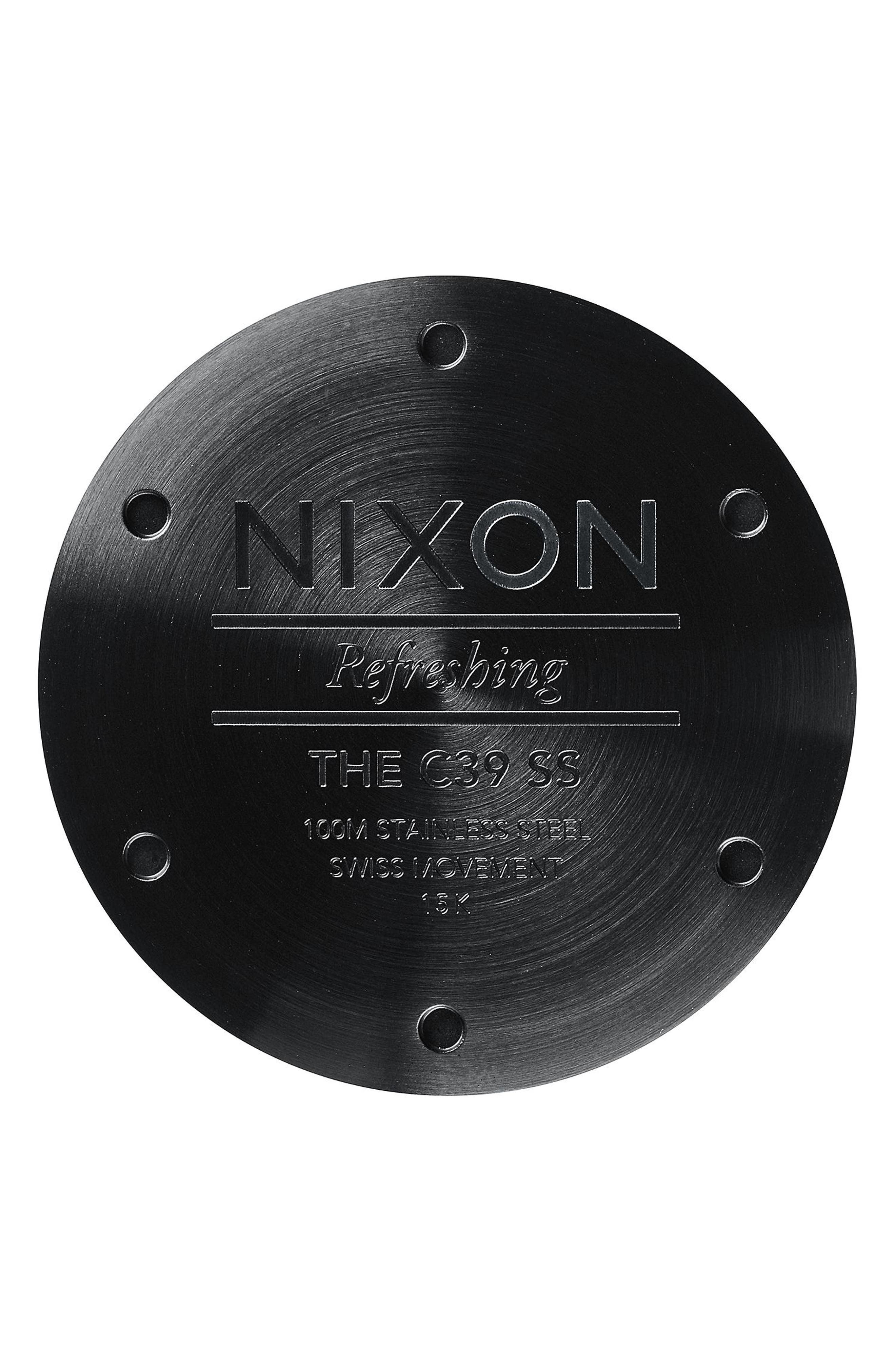 Alternate Image 3  - Nixon C39 Bracelet Watch, 39mm