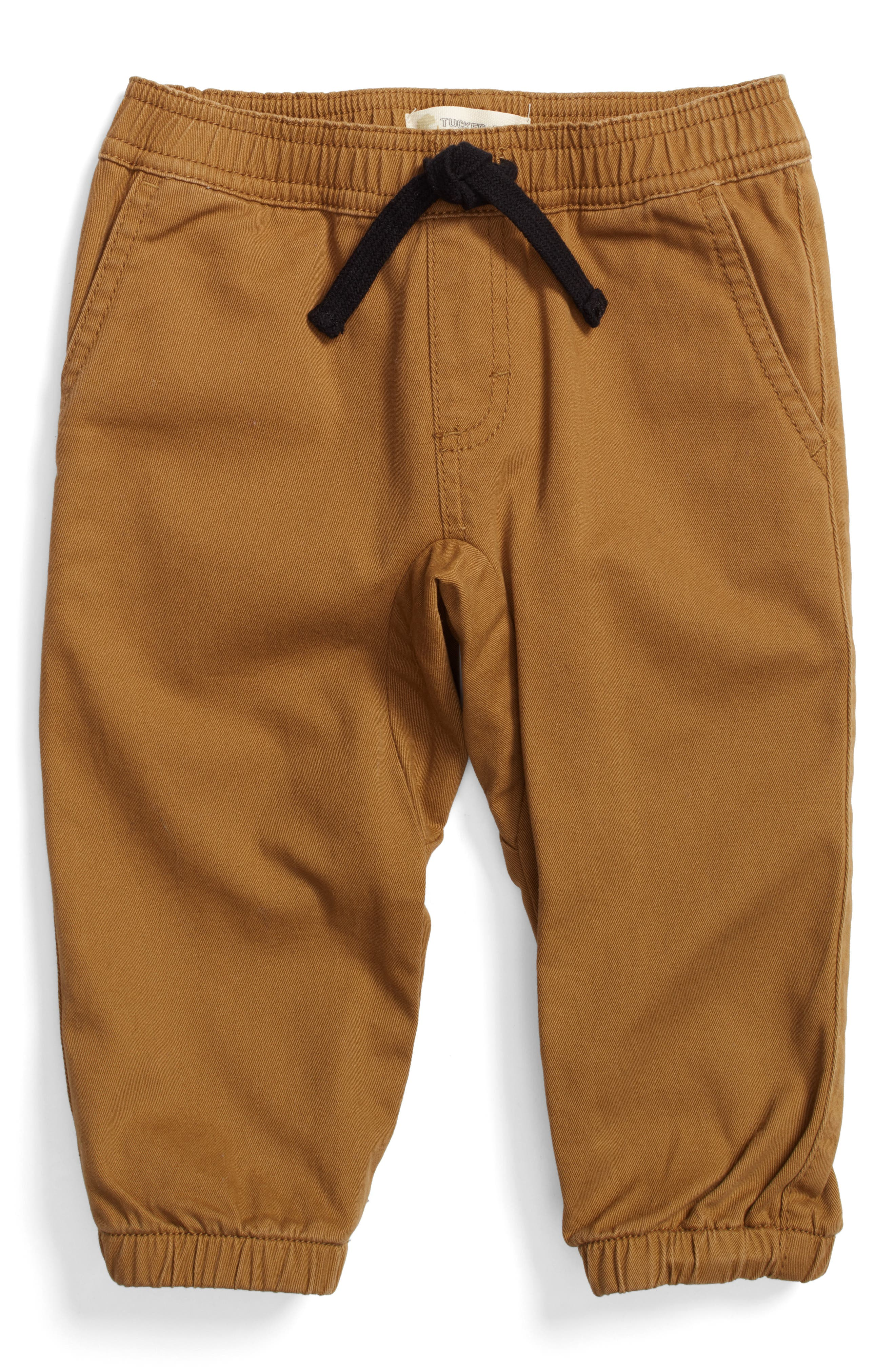 Alternate Image 1 Selected - Tucker + Tate Twill Jogger Pants (Baby Boys)