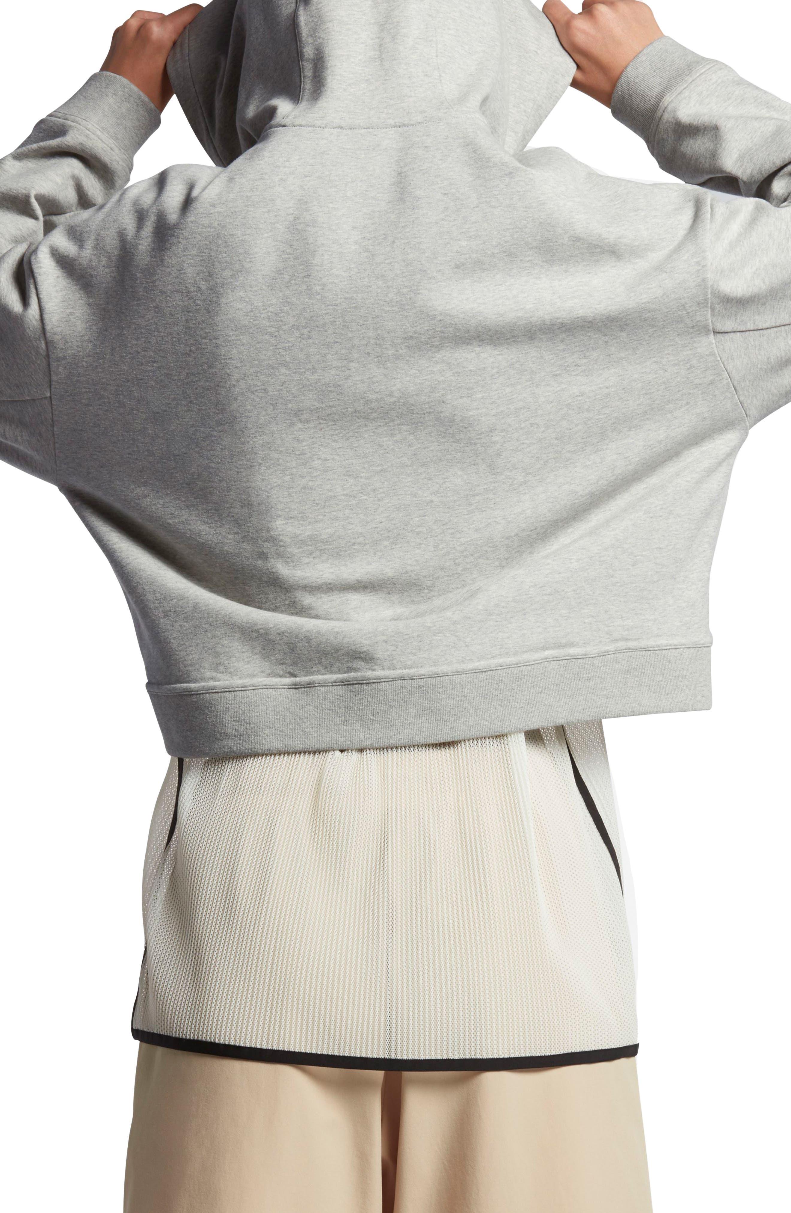 Alternate Image 2  - Nike Lab Essentials Crop Hoodie