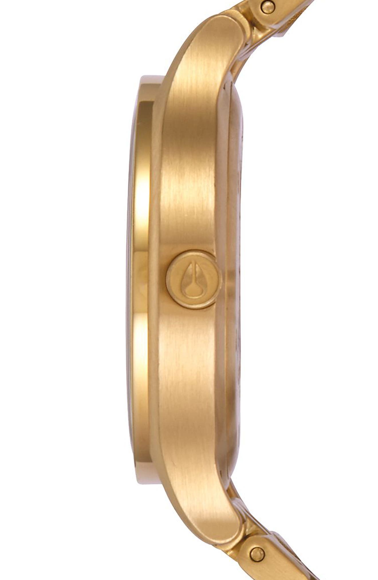 Sala Bracelet Watch, 38mm,                             Alternate thumbnail 3, color,                             Gold/ White/ Gold