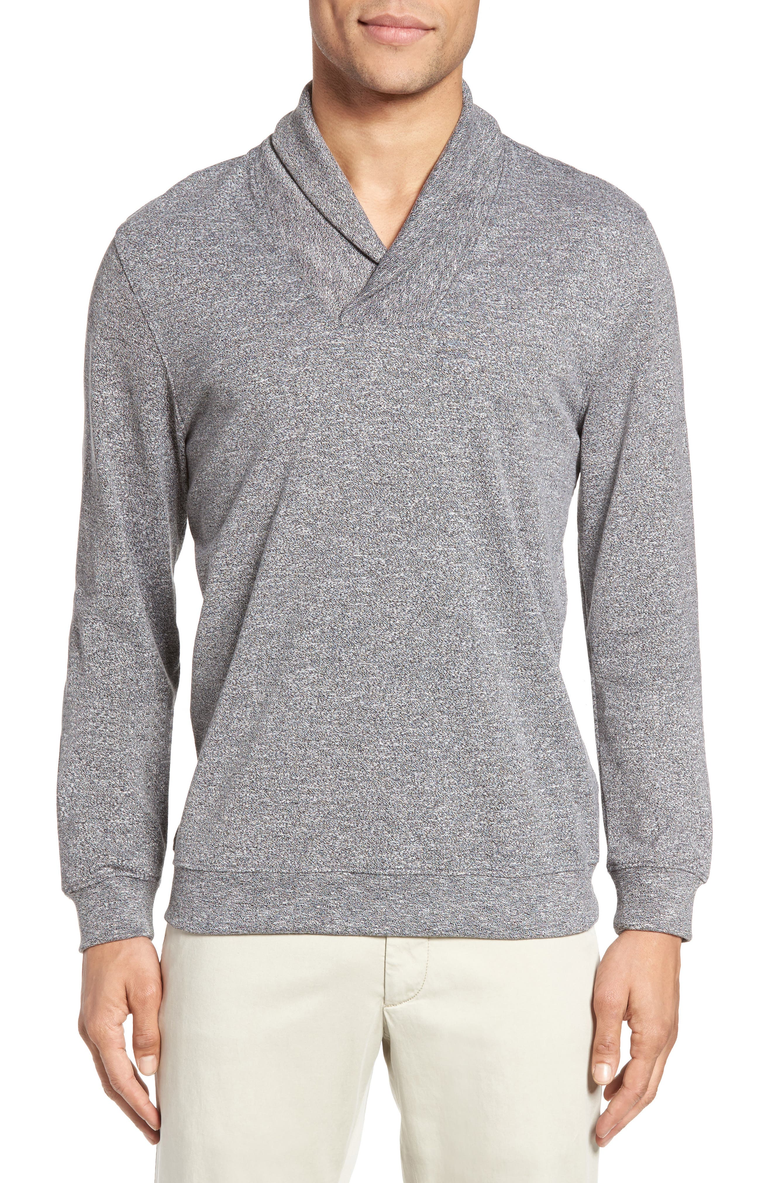 ZACHARY PRELL Flatwoods Shawl Collar Pullover