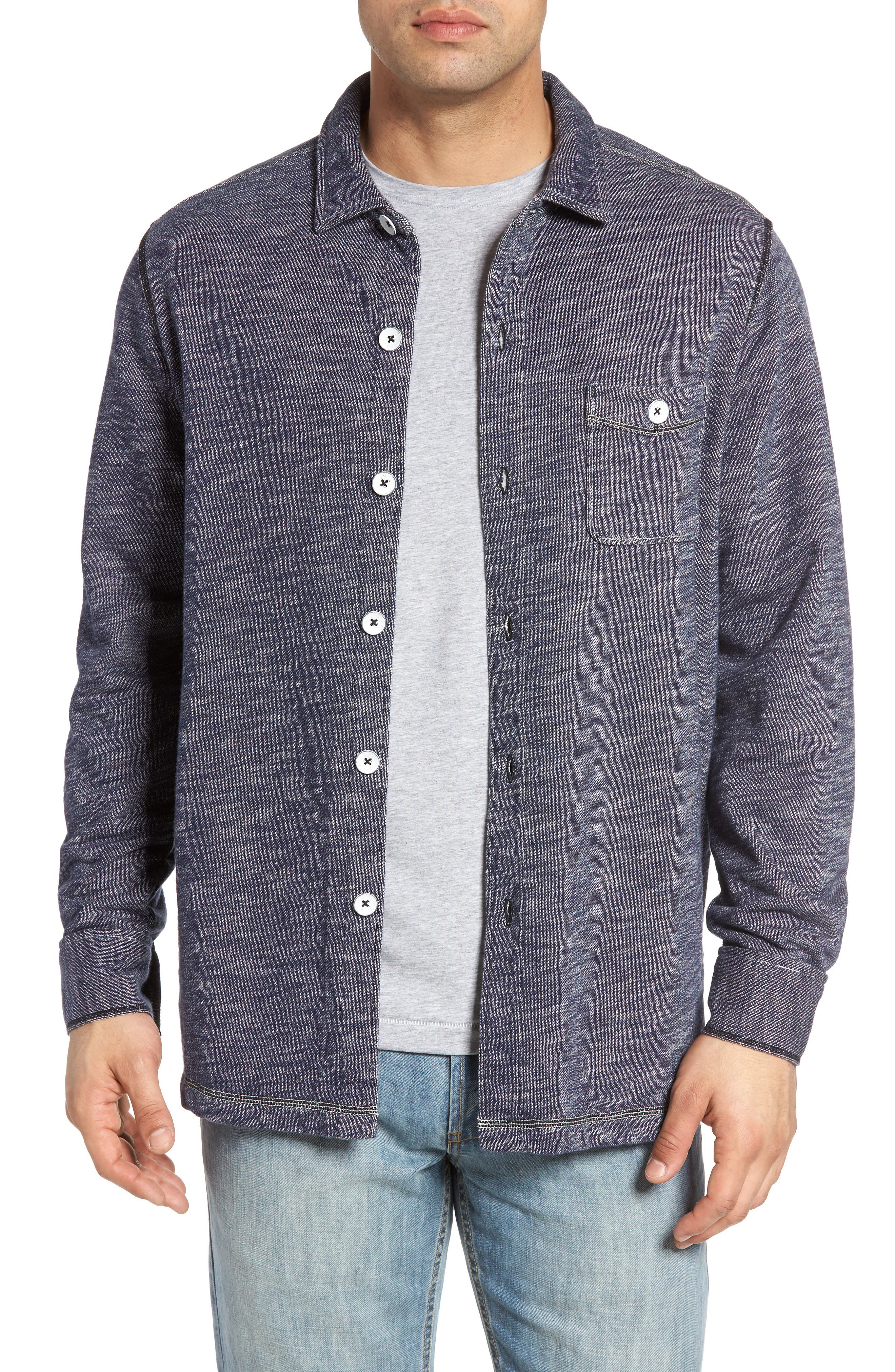 Main Image - Tommy Bahama Beach Ridge Shirt Jacket