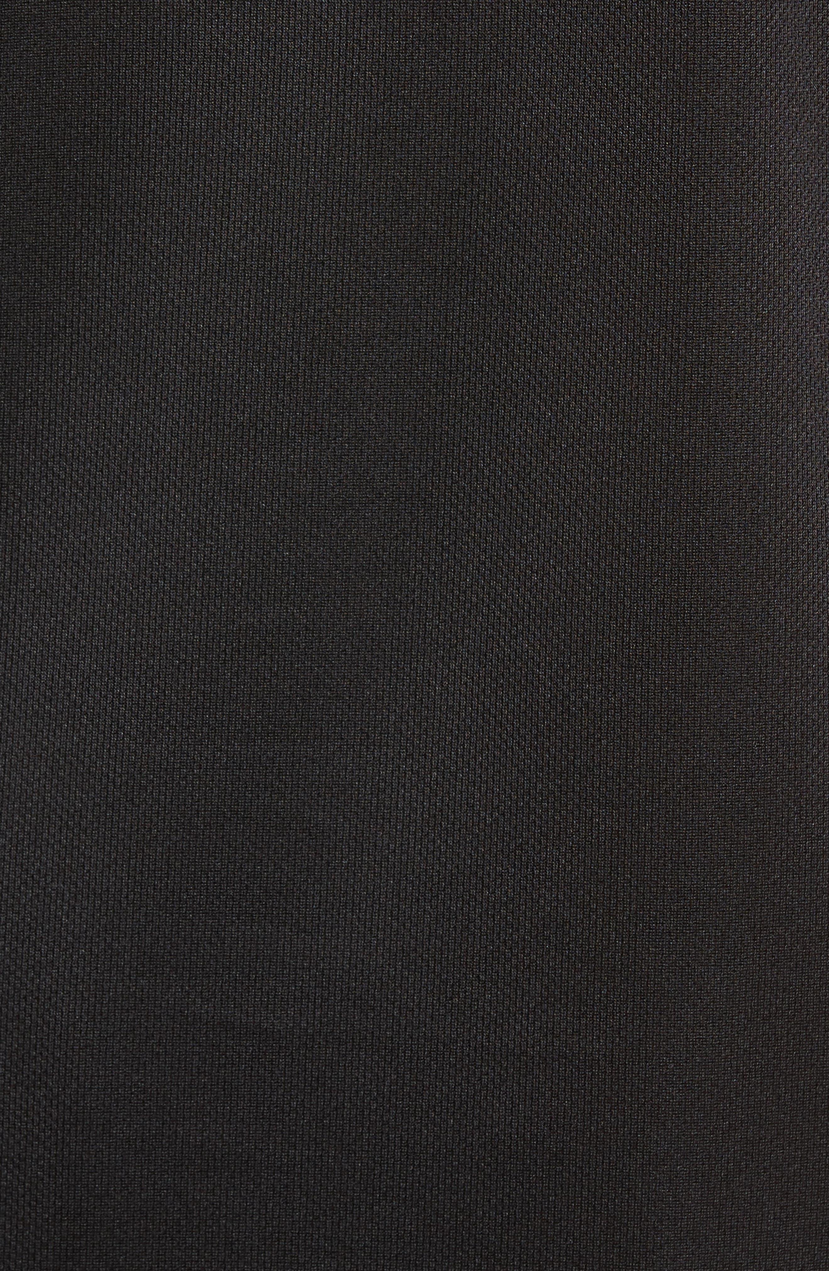 Work Out Crewneck T-Shirt,                             Alternate thumbnail 5, color,                             Black