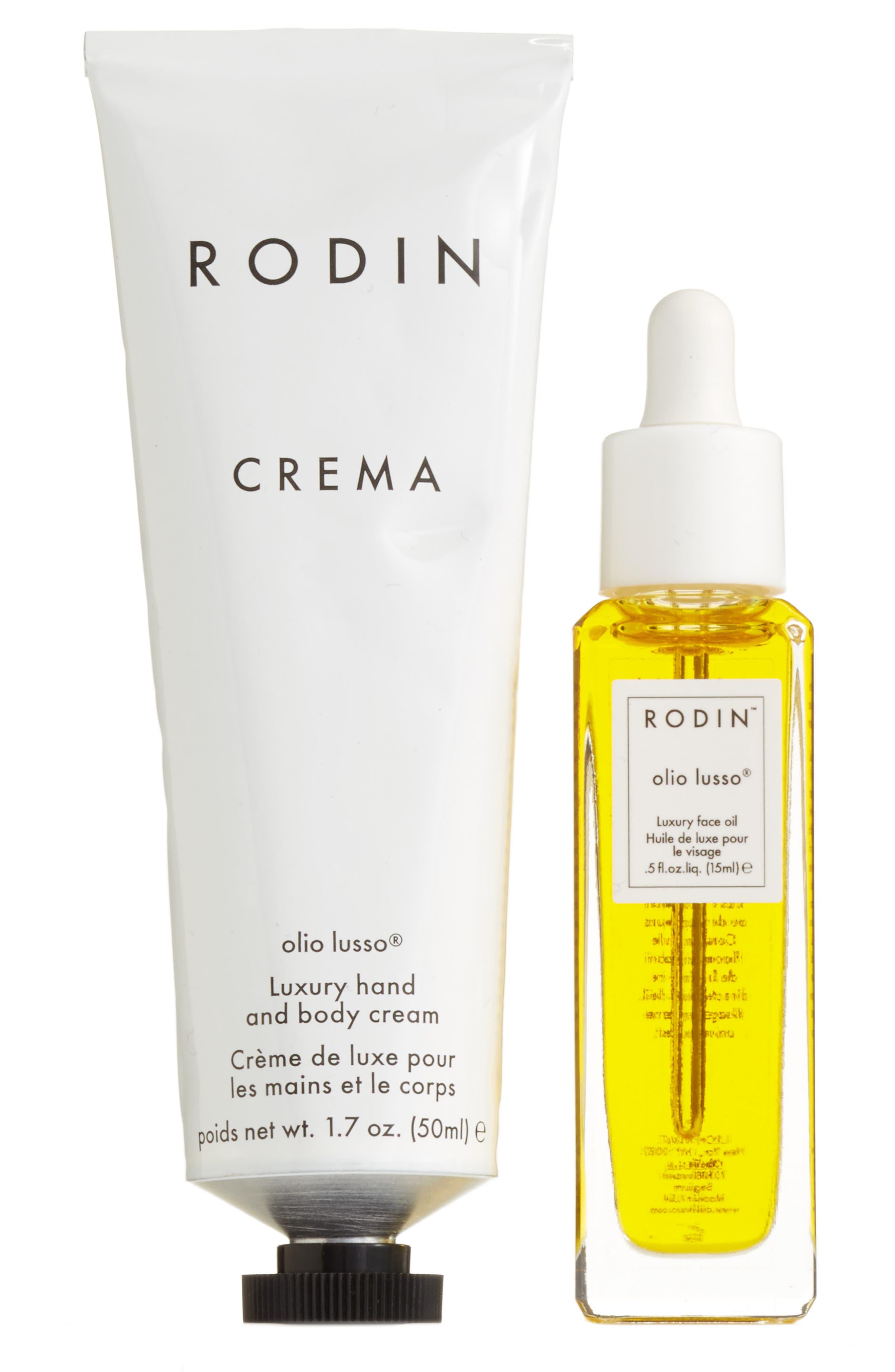 Main Image - RODIN olio lusso Jasmine/Neroli Luxury Face Oil & Crema Set