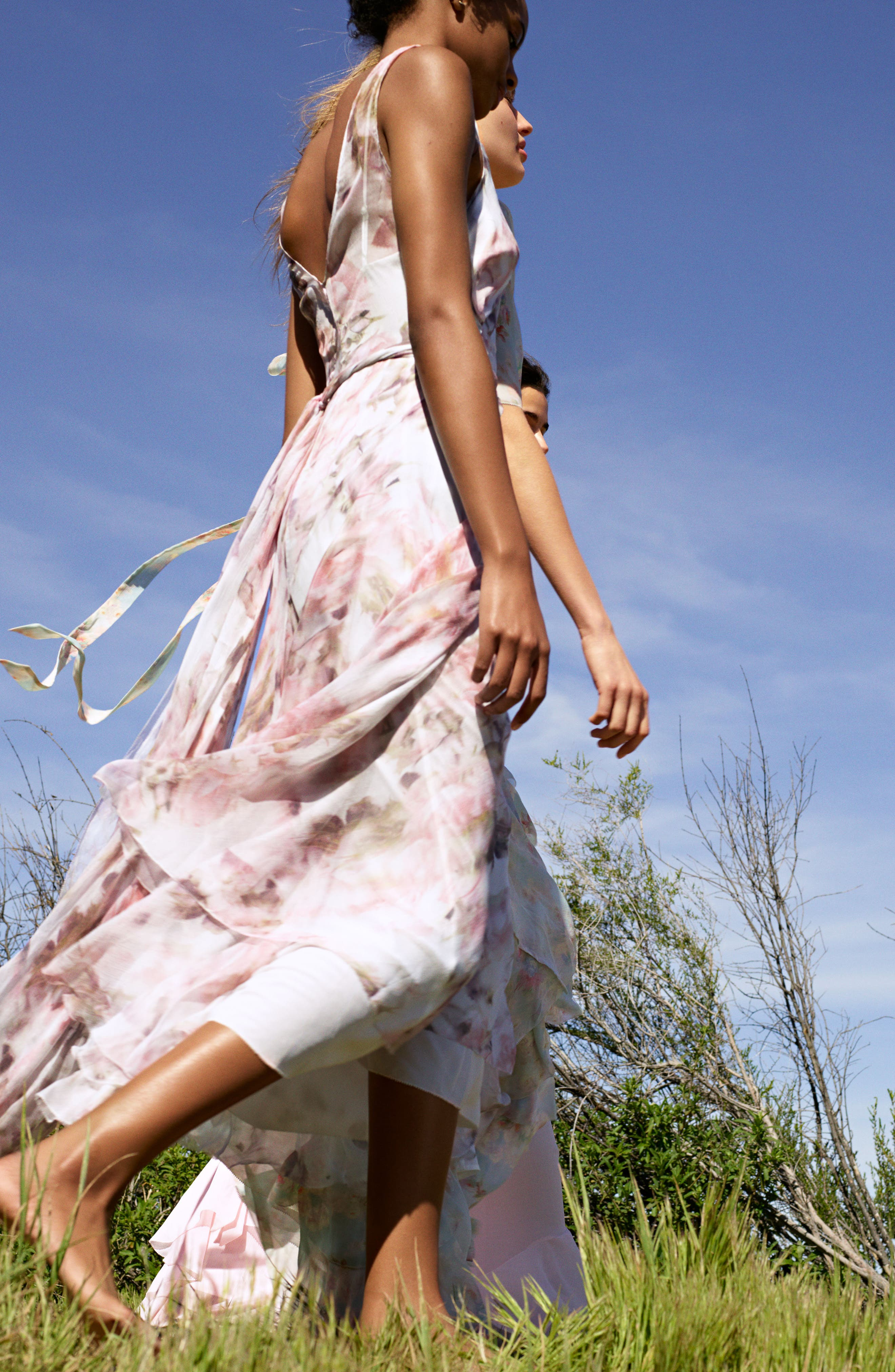 Alternate Image 8  - Topshop Bride Cascade Gown