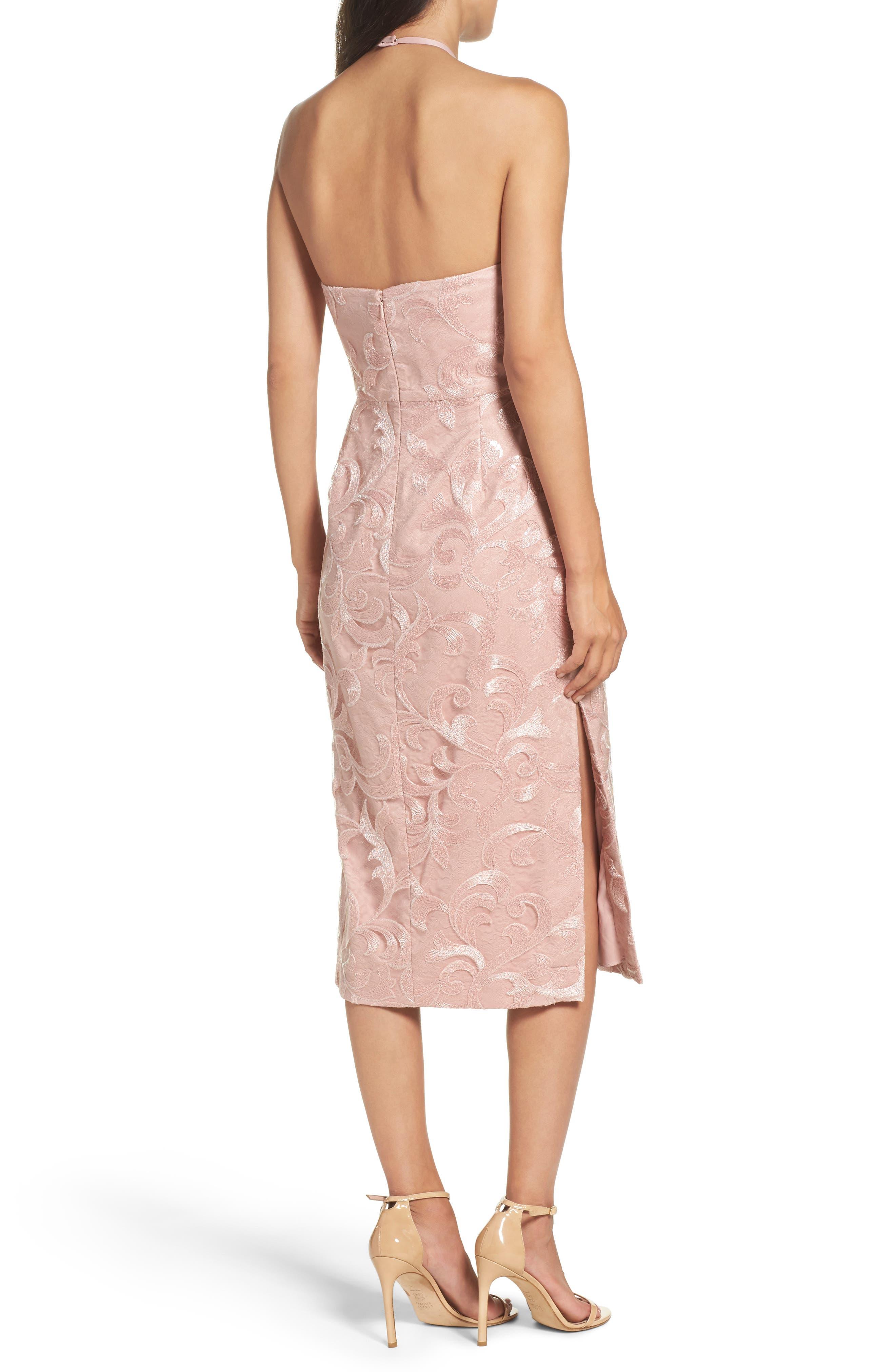 Alternate Image 2  - Vera Wang Asymmetrical Midi Dress
