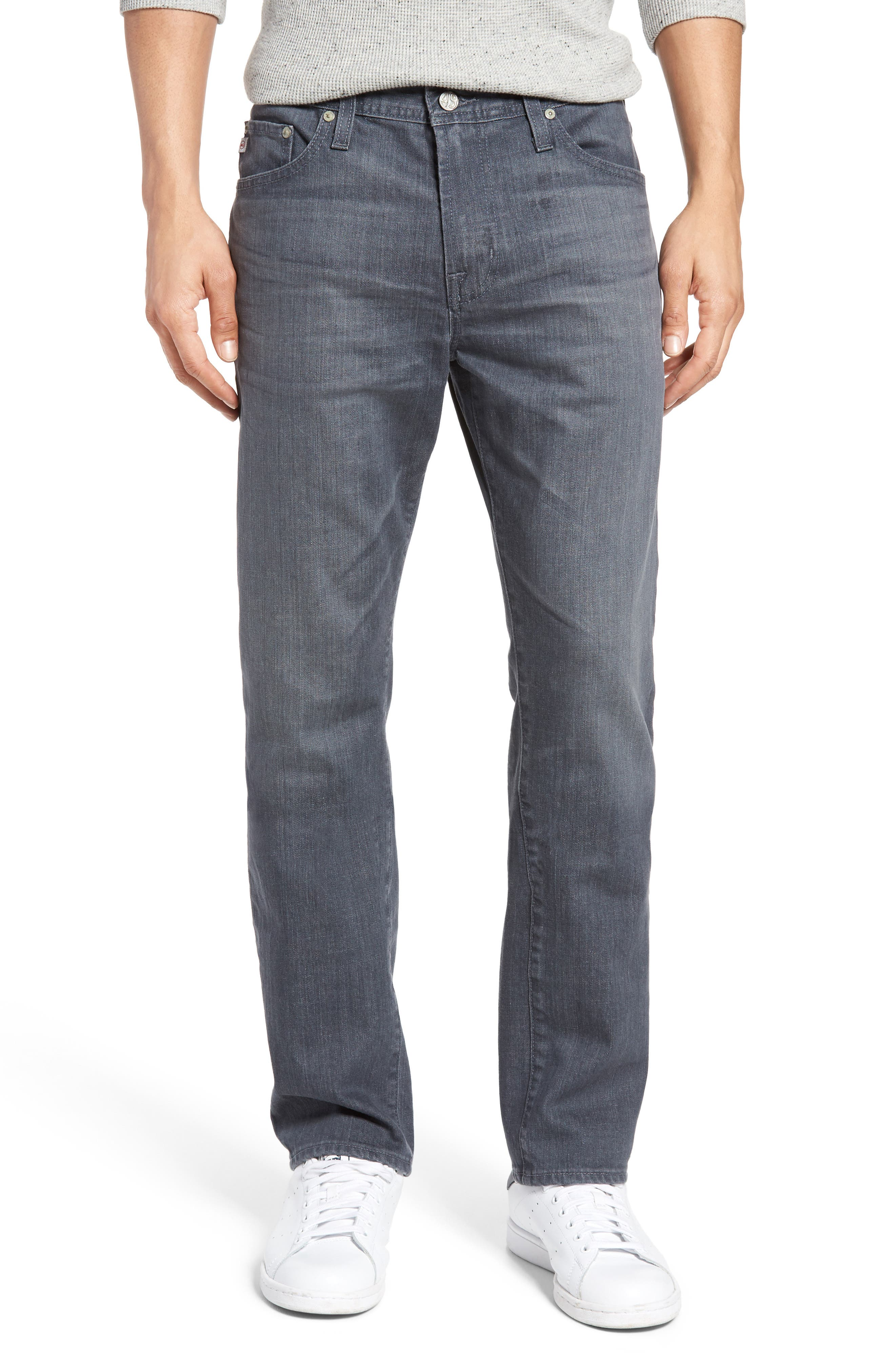 AG Everett Slim Straight Leg Jeans (6 Years Axl)