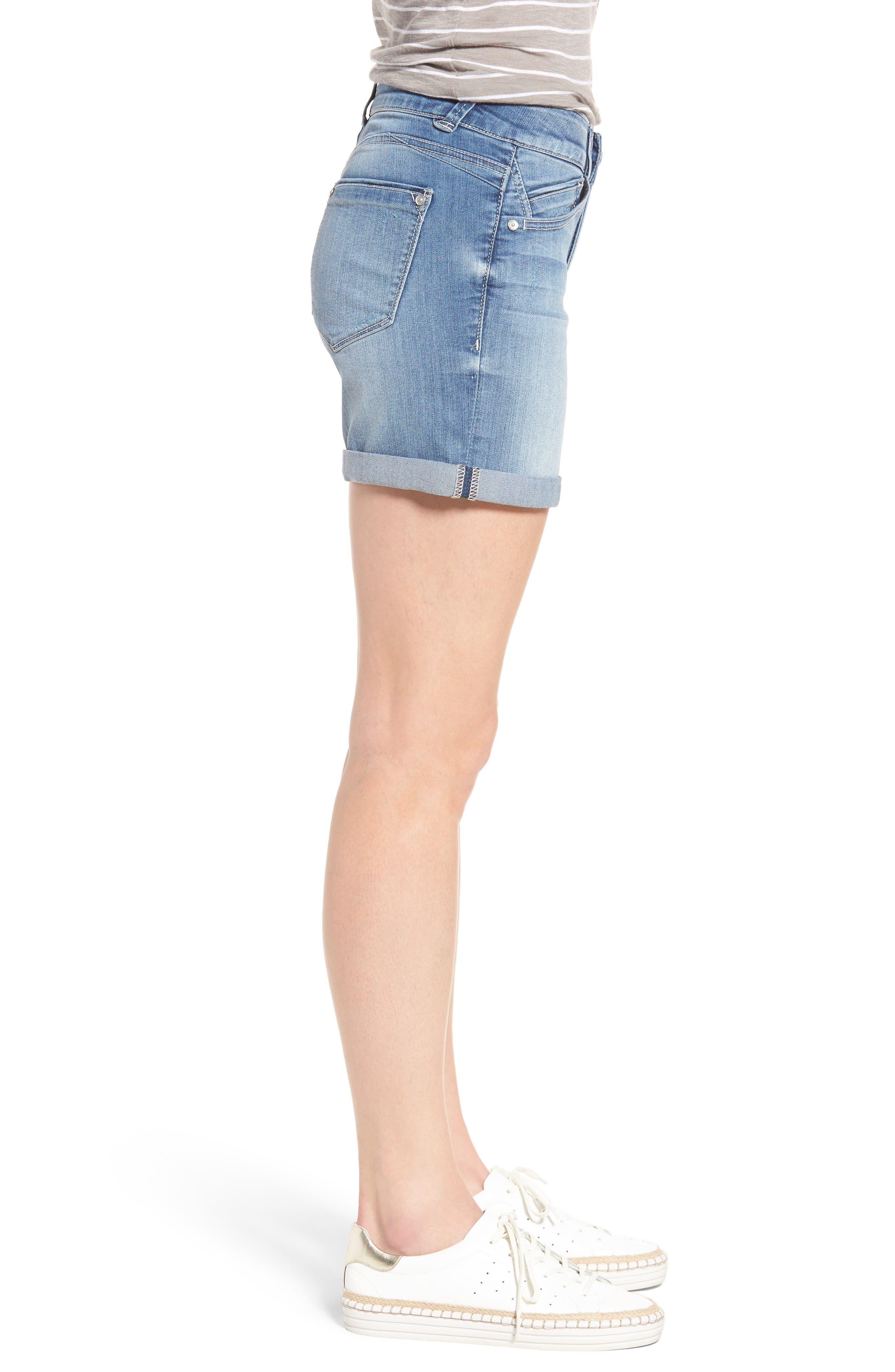 Alternate Image 3  - Wit & Wisdom Ab-solution Cuffed Denim Shorts (Regular & Petite) (Nordstrom Exclusive)