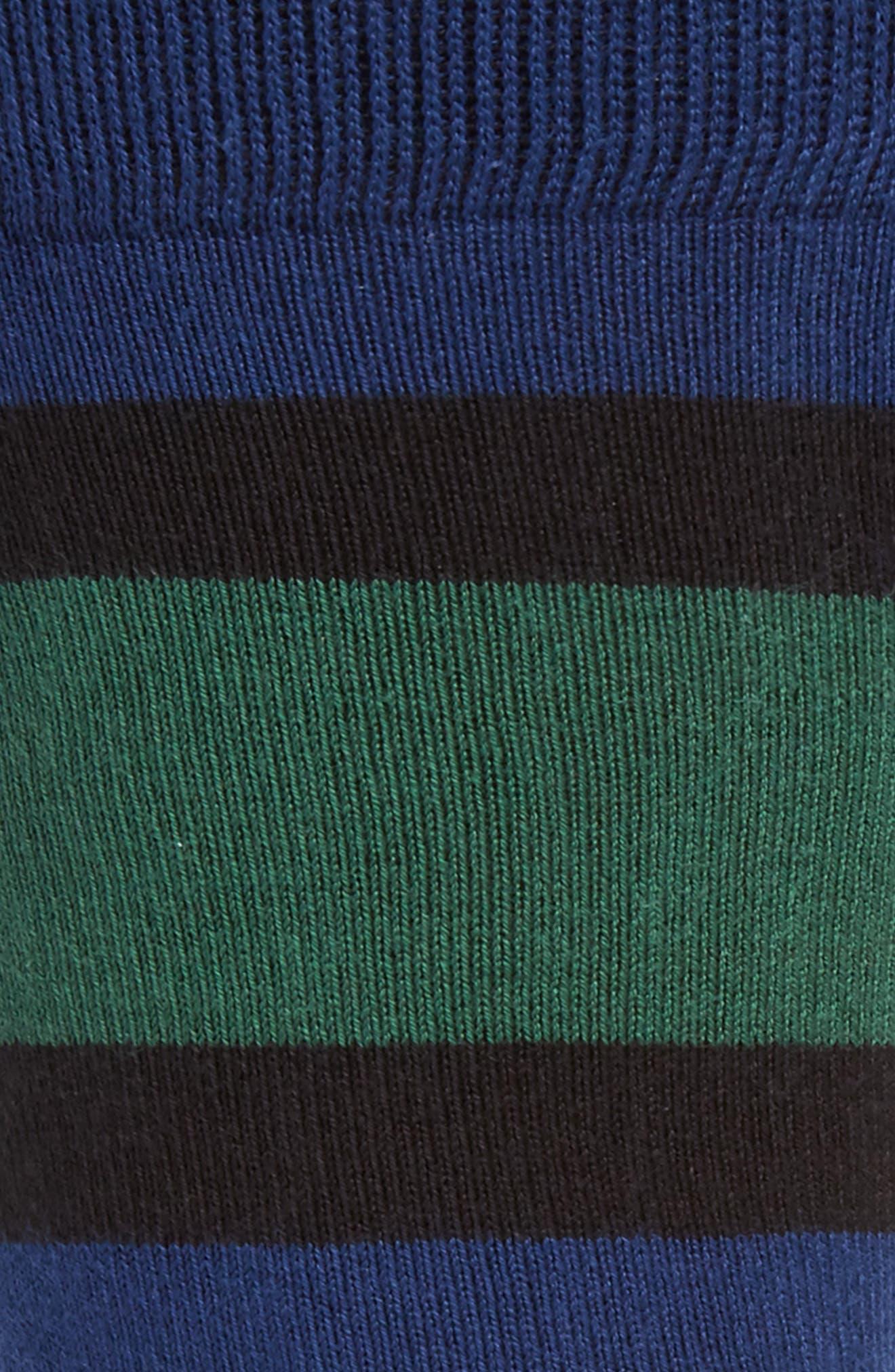 Alternate Image 2  - Paul Smith Odd Block Stripe Socks