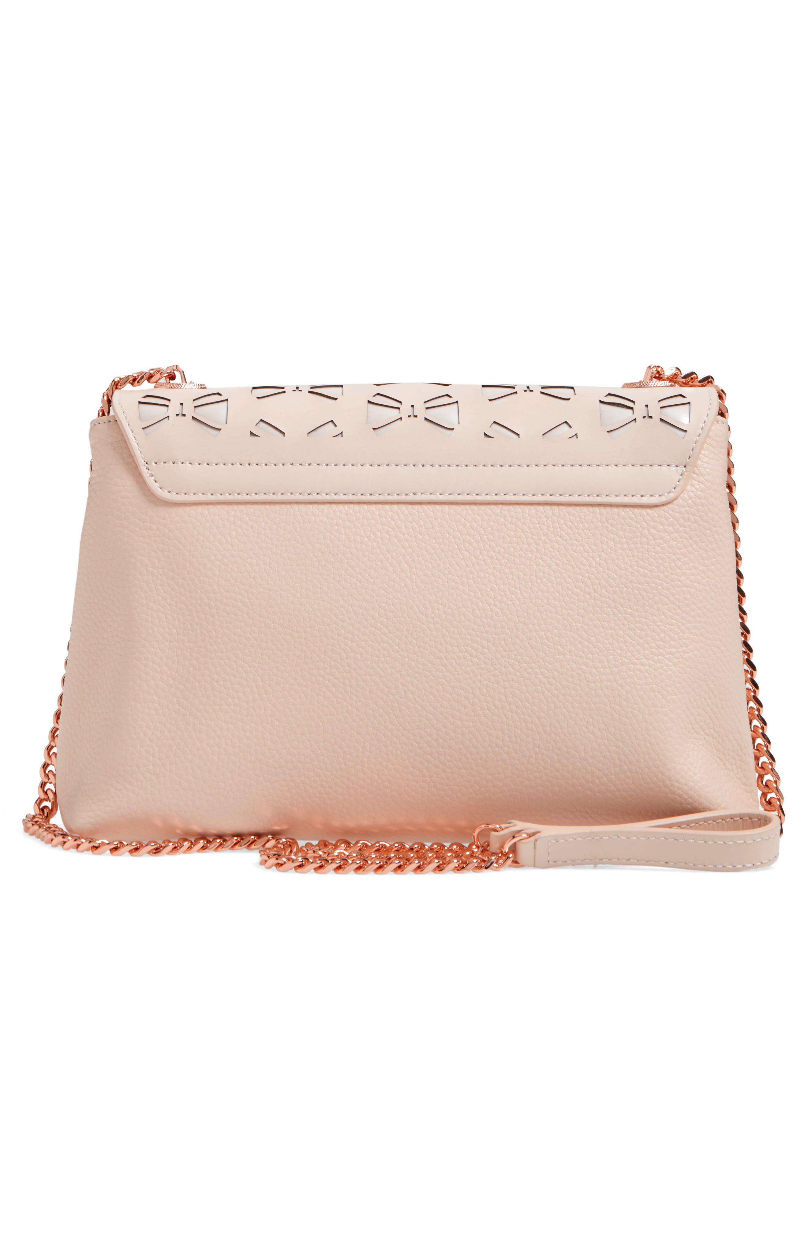 Alternate Image 3  - Ted Baker London Leather Crossbody Bag