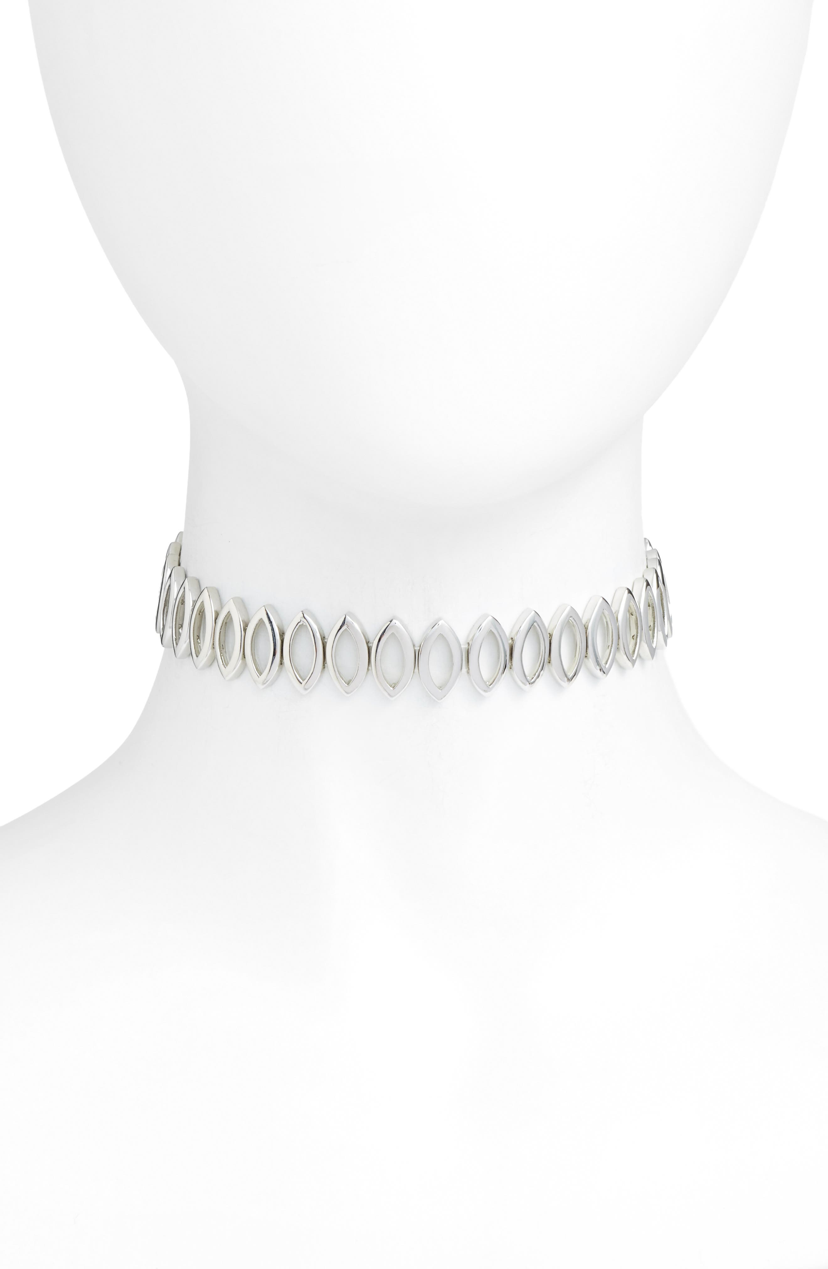 Alternate Image 1 Selected - Rebecca Minkoff Navette Choker Necklace