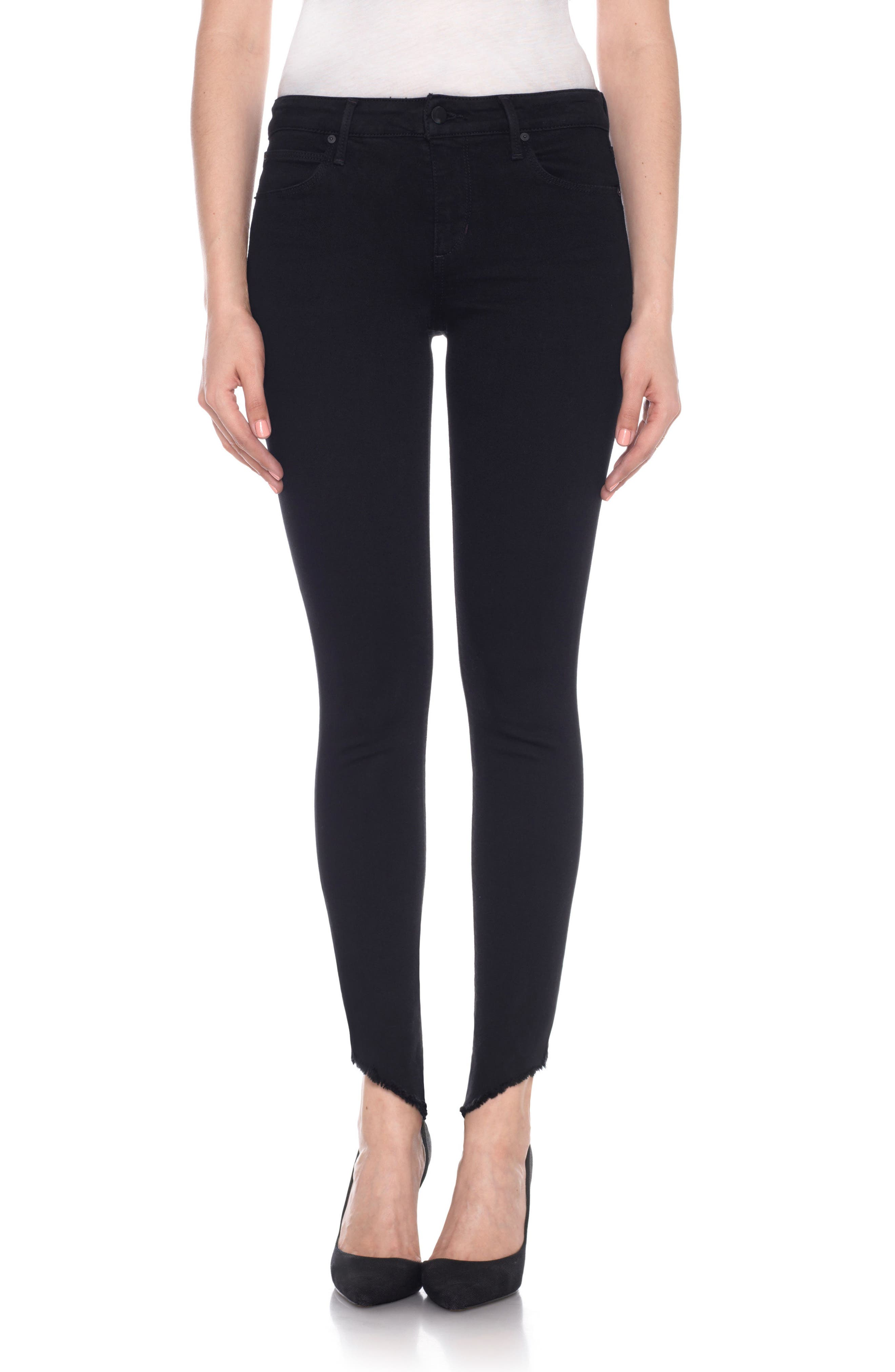 Flawless - Icon Ankle Skinny Jeans,                             Main thumbnail 1, color,                             Rosella