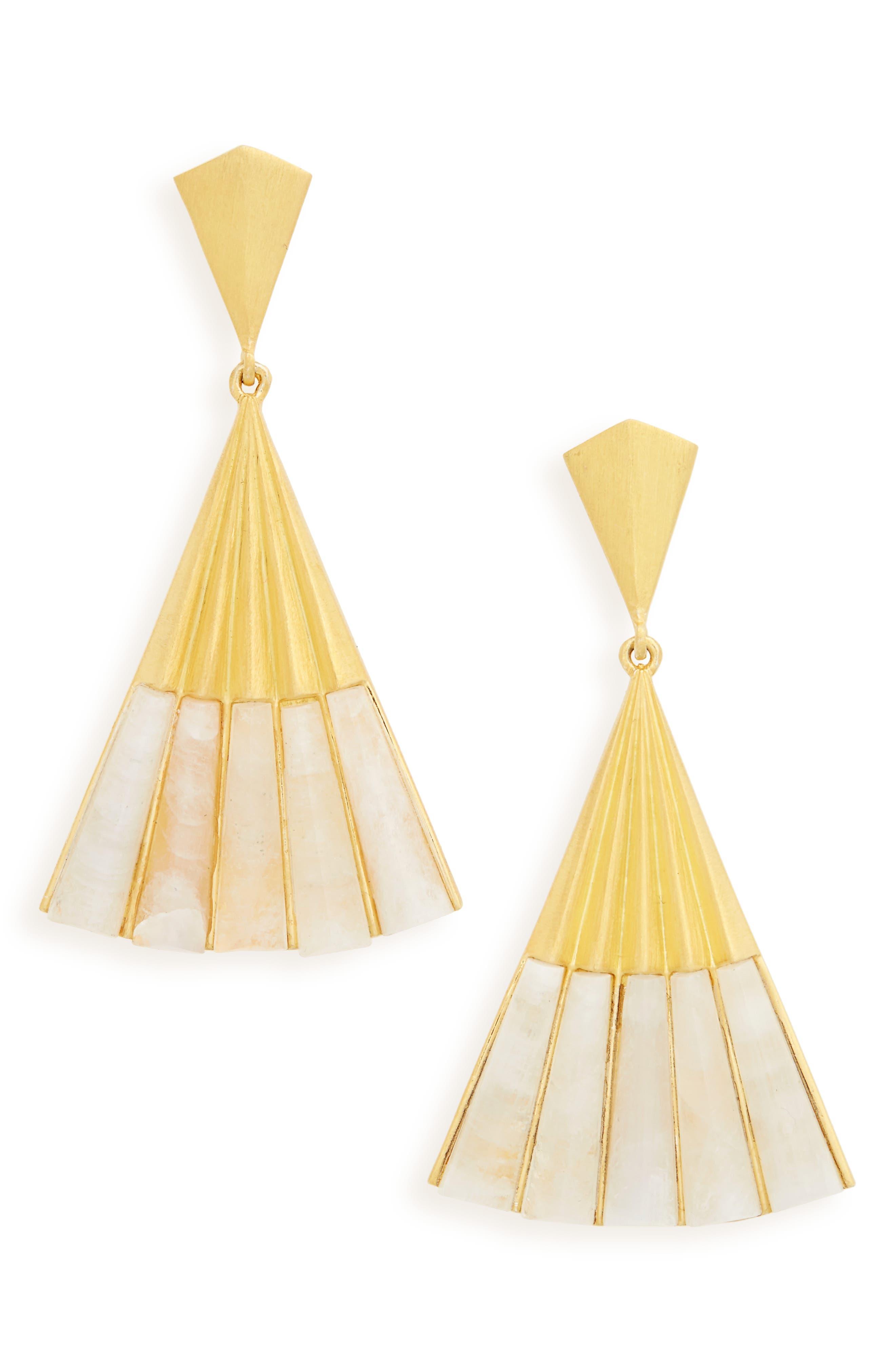 Alternate Image 1 Selected - Dean Davidson Fan Earrings