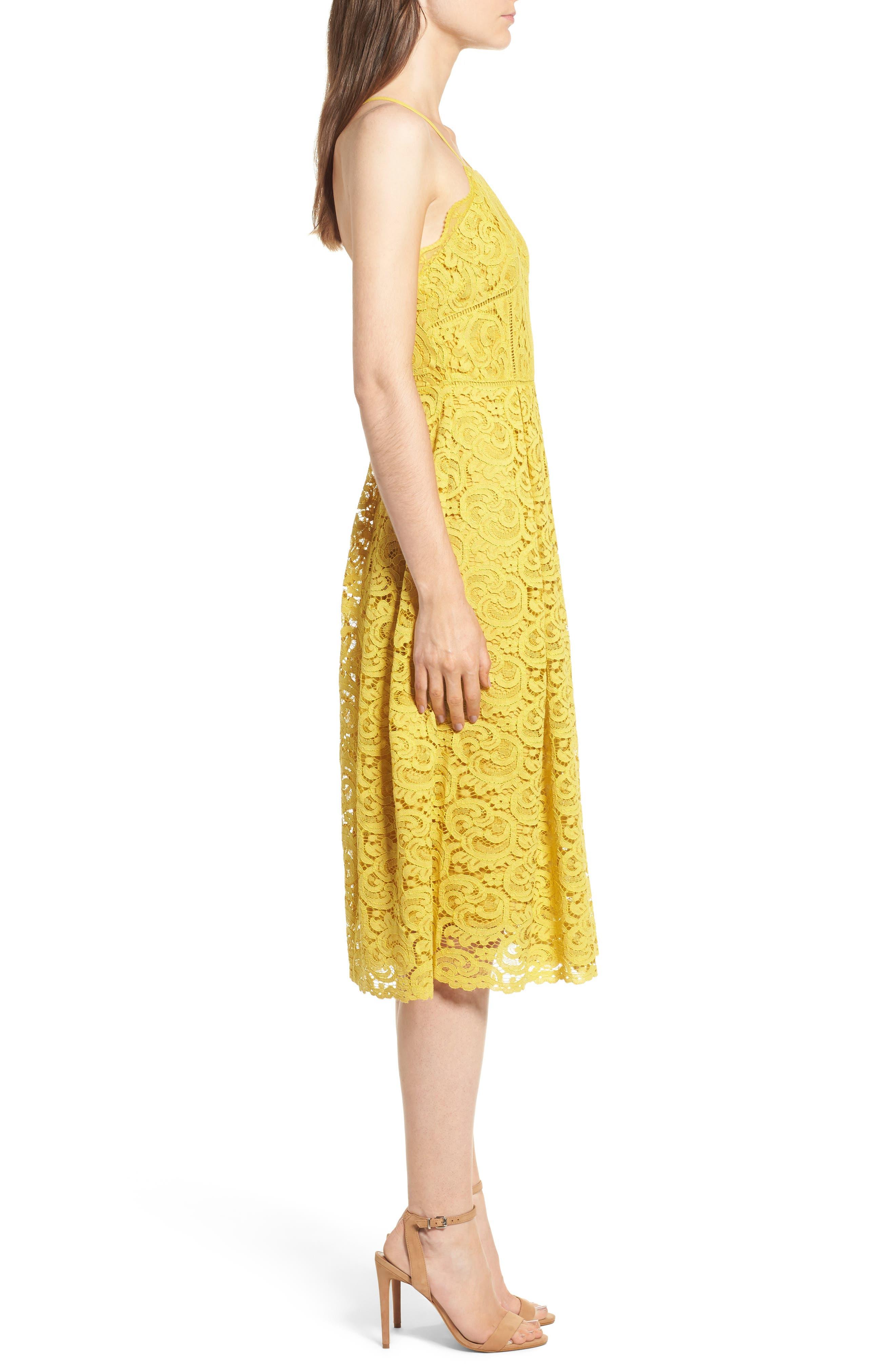 Alternate Image 3  - J.O.A. Lace Midi Dress