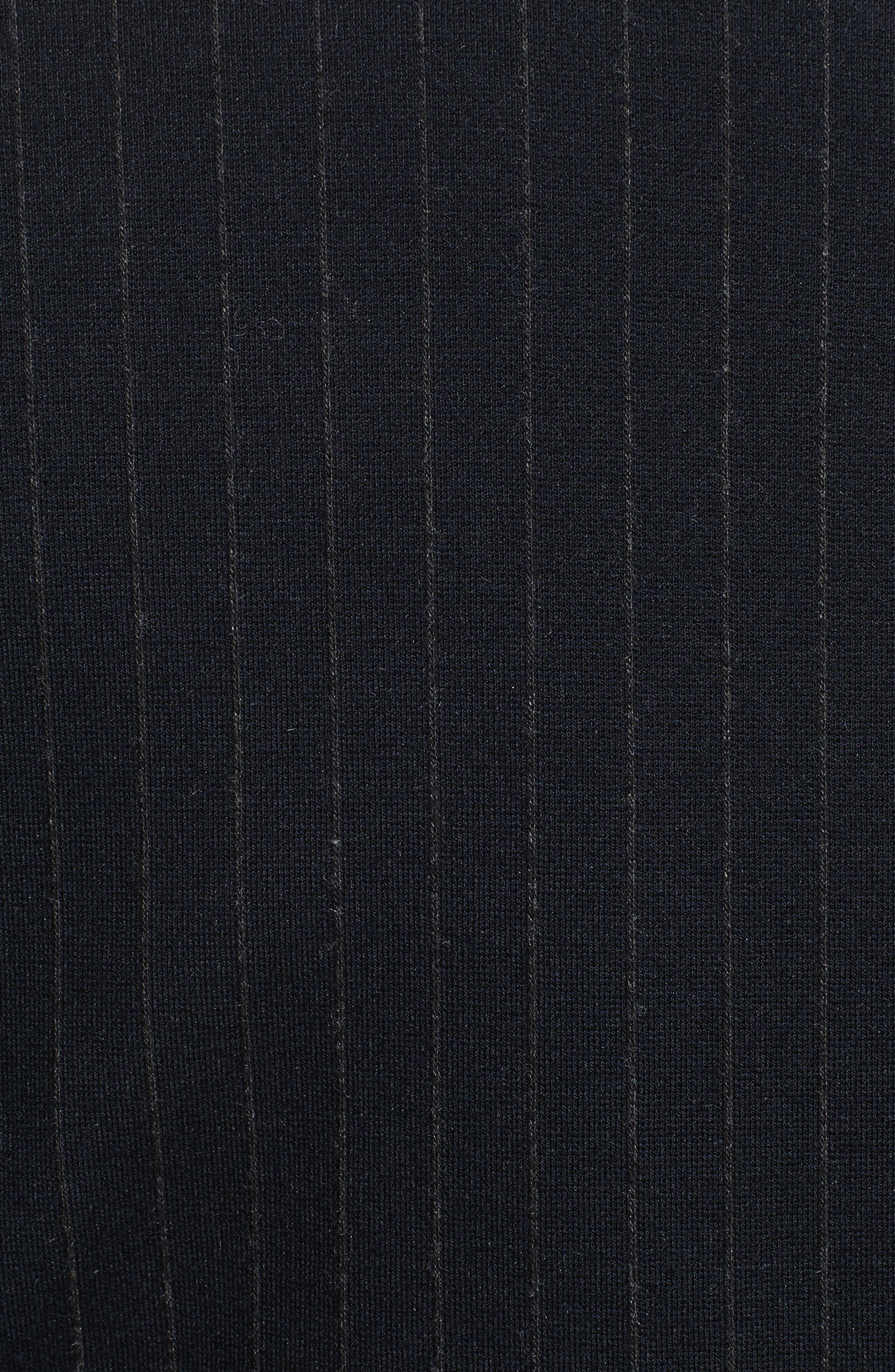 Pinstripe Power Blazer,                             Alternate thumbnail 6, color,                             Deep Navy
