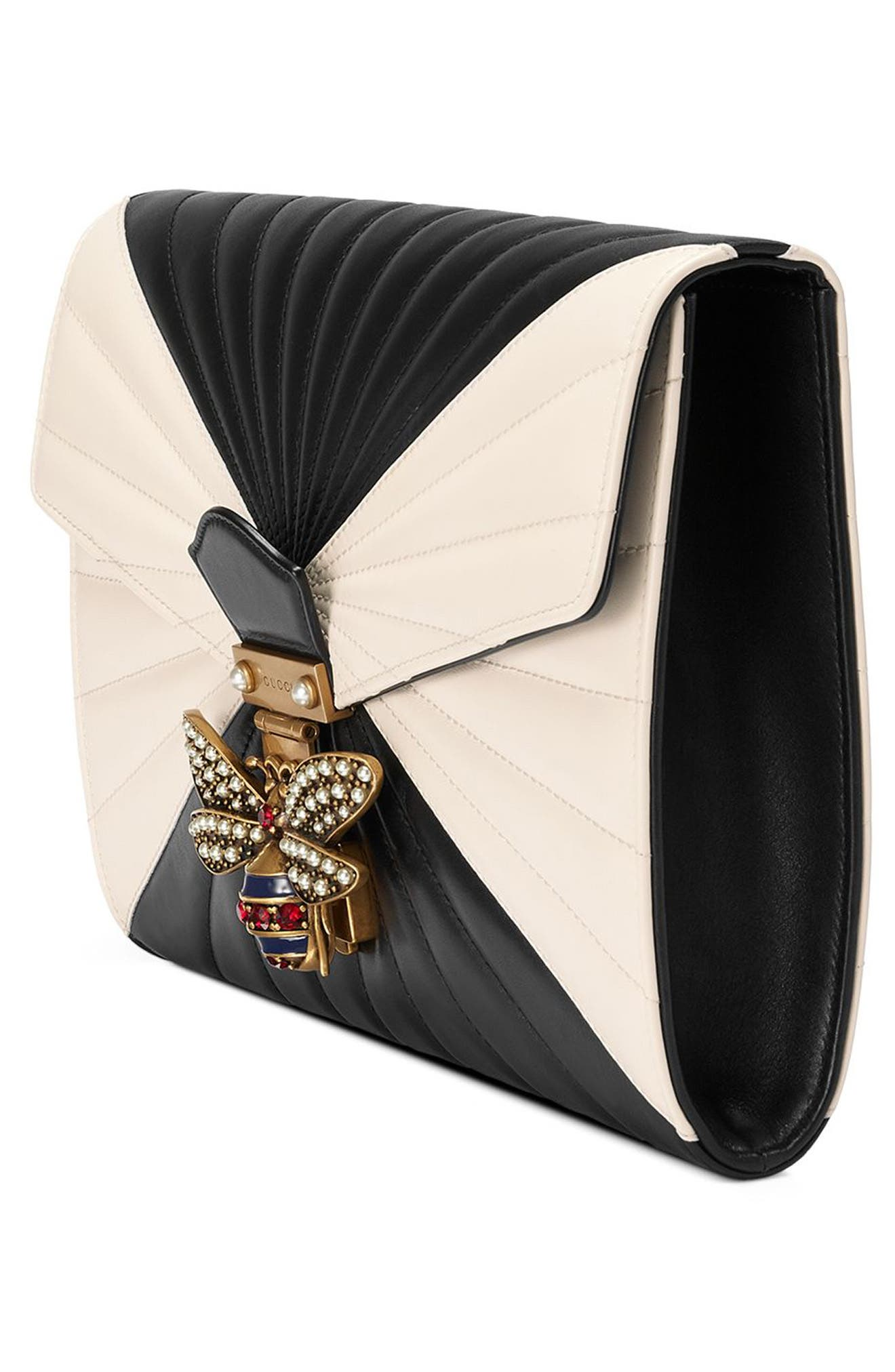 Alternate Image 5  - Gucci Queen Margaret Matelassé Leather Clutch