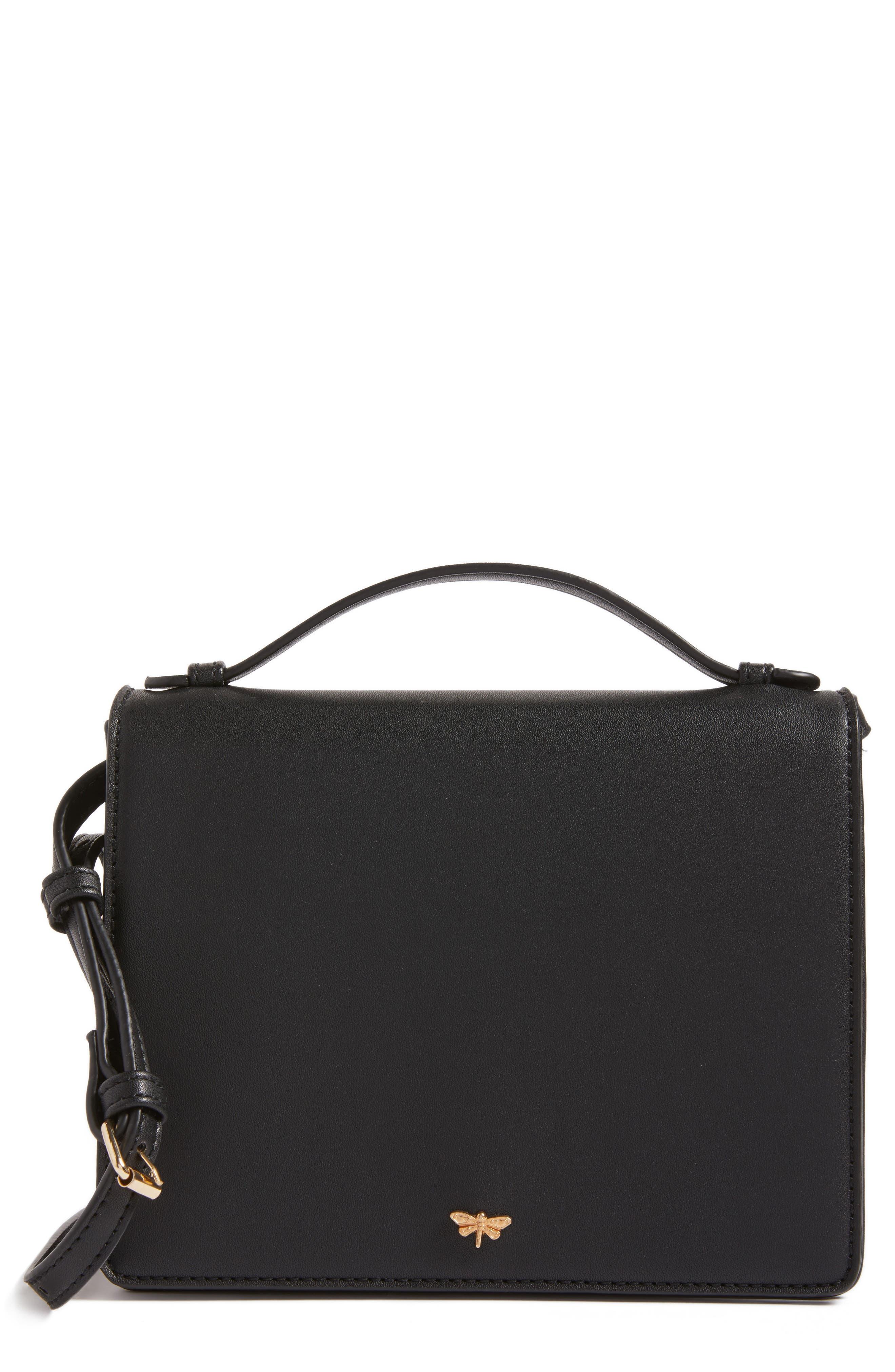 BP. Faux Leather Crossbody Bag