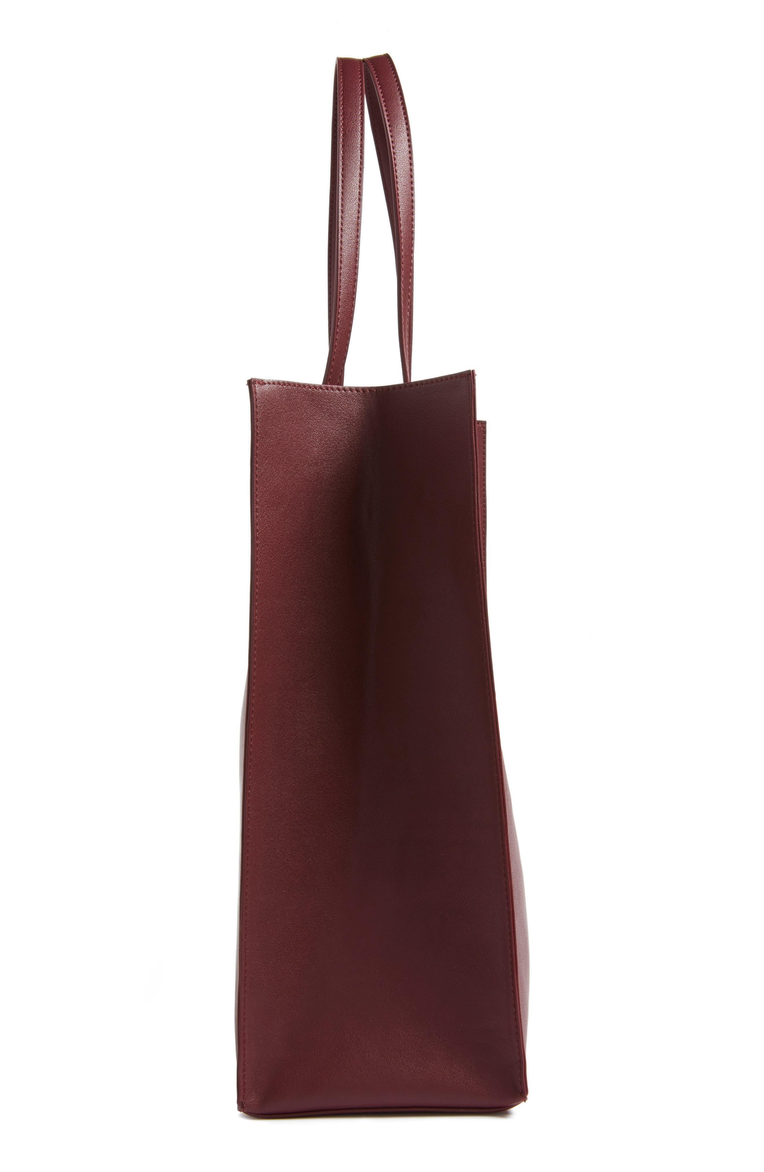 Alternate Image 5  - BP. Faux Leather Tote