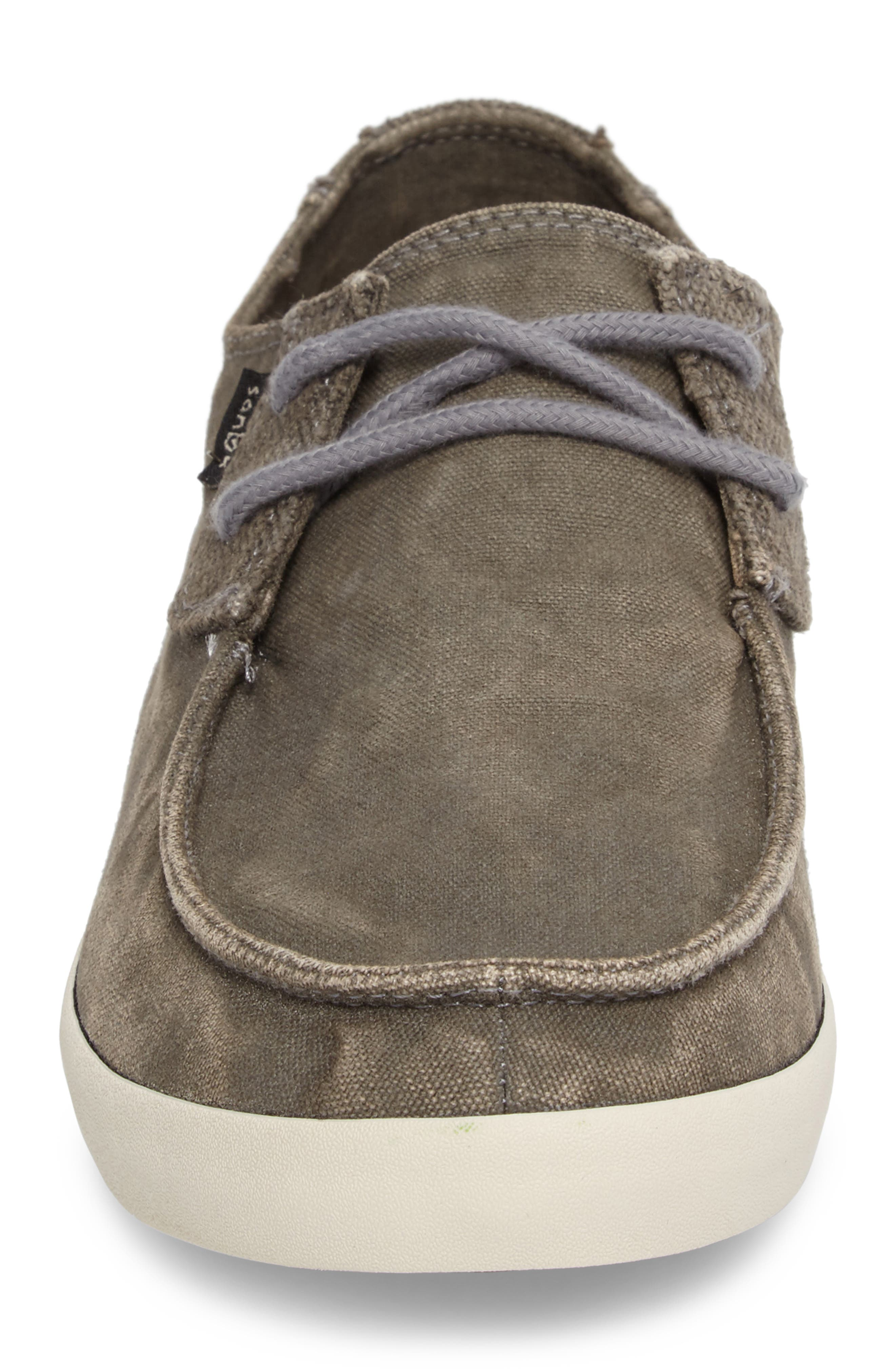 Numami Sneaker,                             Alternate thumbnail 4, color,                             Washed Grey Canvas
