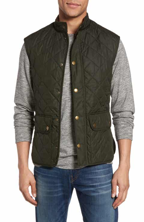 Men's Vests: Denim, Down & Puffer | Nordstrom : quilted mens vest - Adamdwight.com