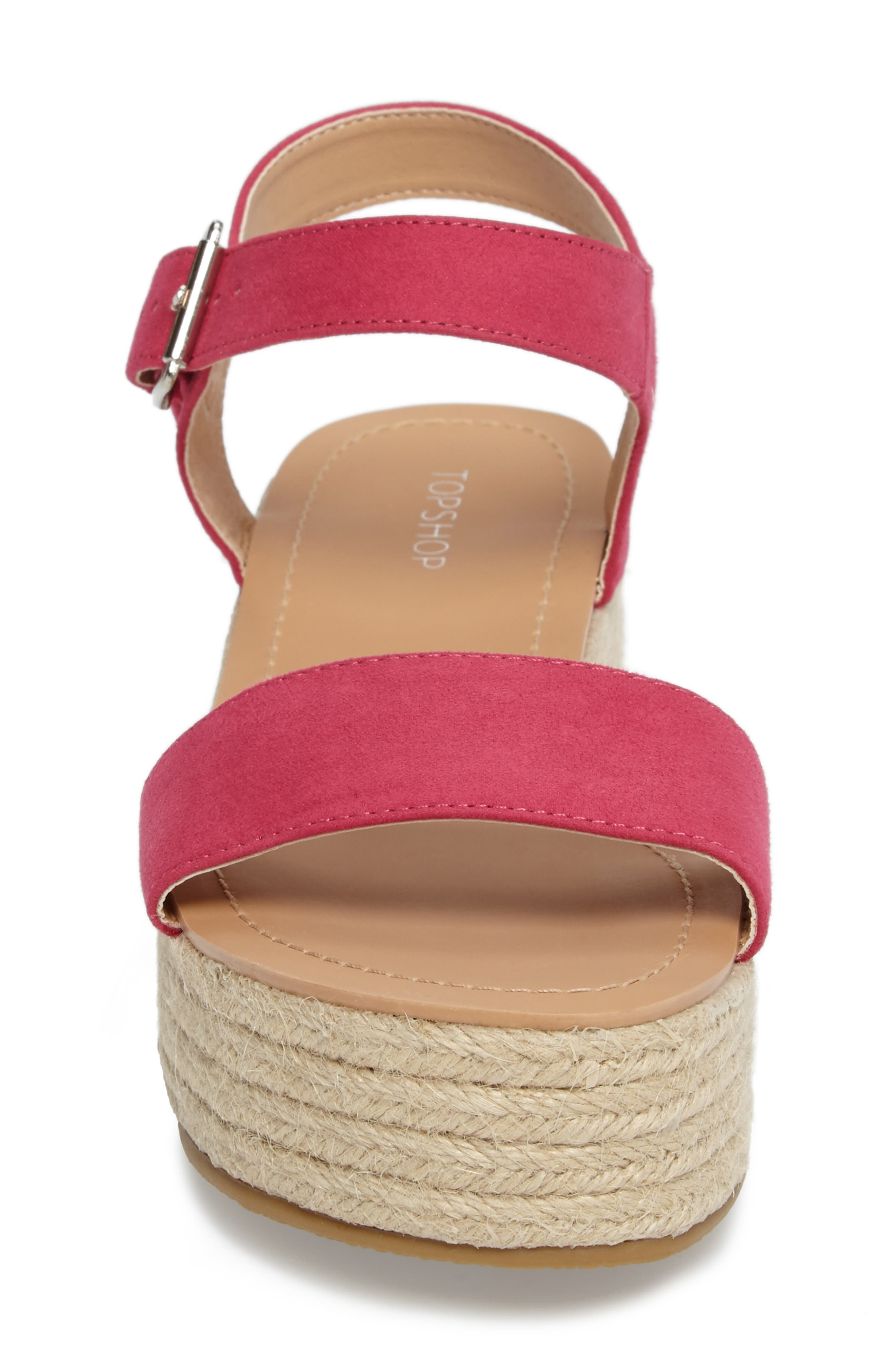 Alternate Image 4  - Topshop Dream Platform Espadrille Sandal (Women)