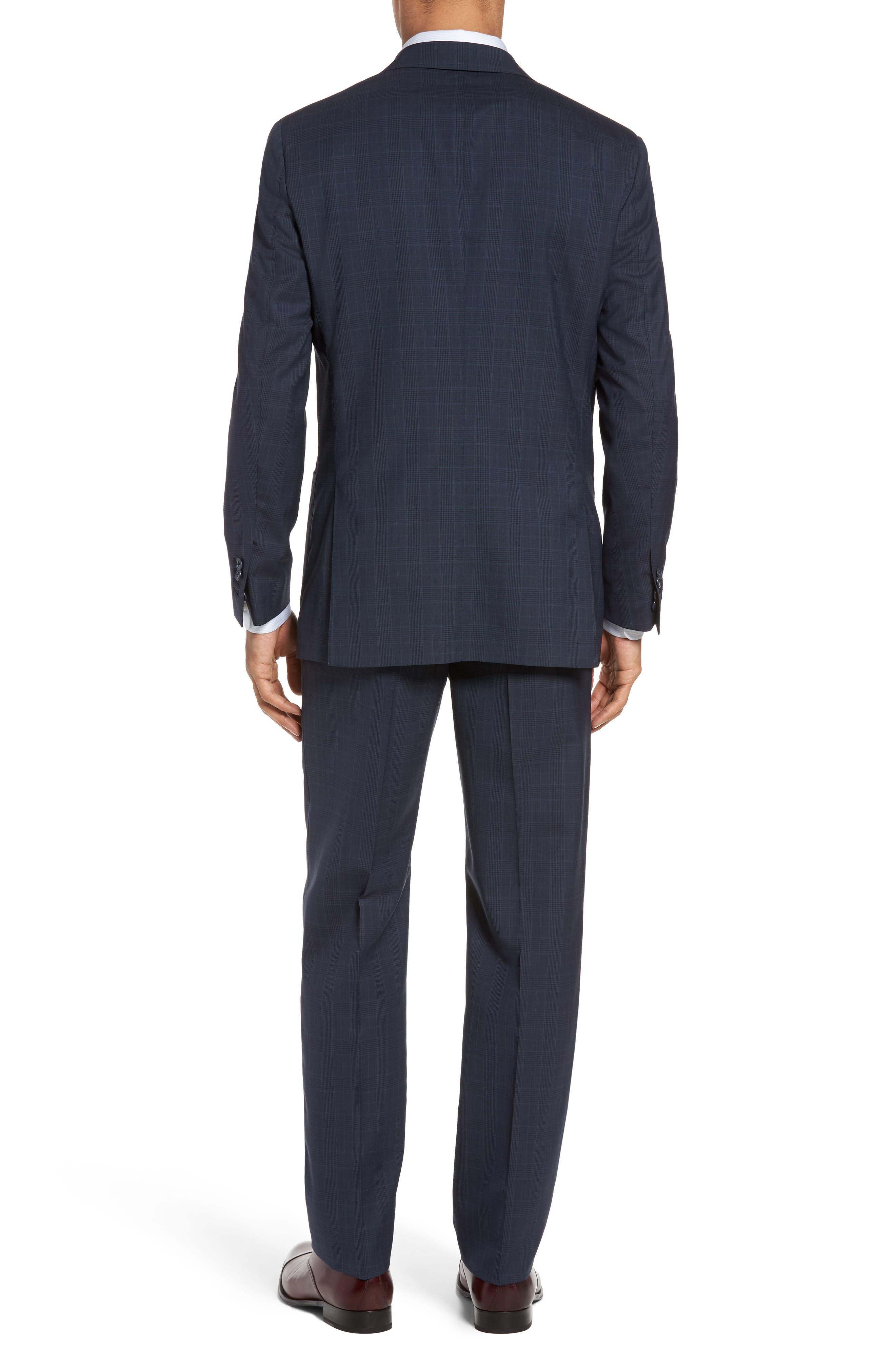 Alternate Image 2  - Michael Bastian Classic Fit Plaid Wool Suit