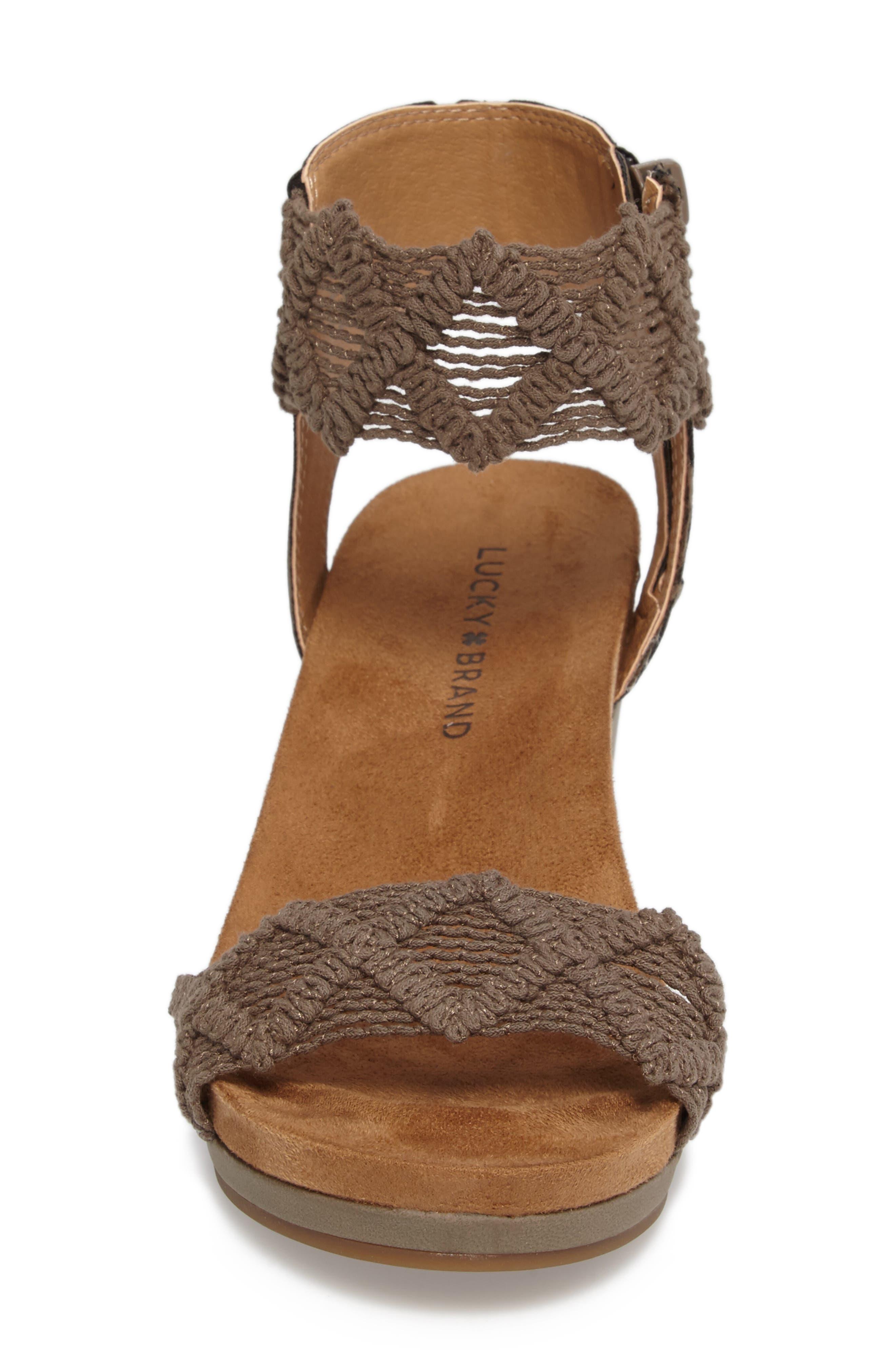 Alternate Image 4  - Lucky Brand Kierlo Wedge Sandal (Women)