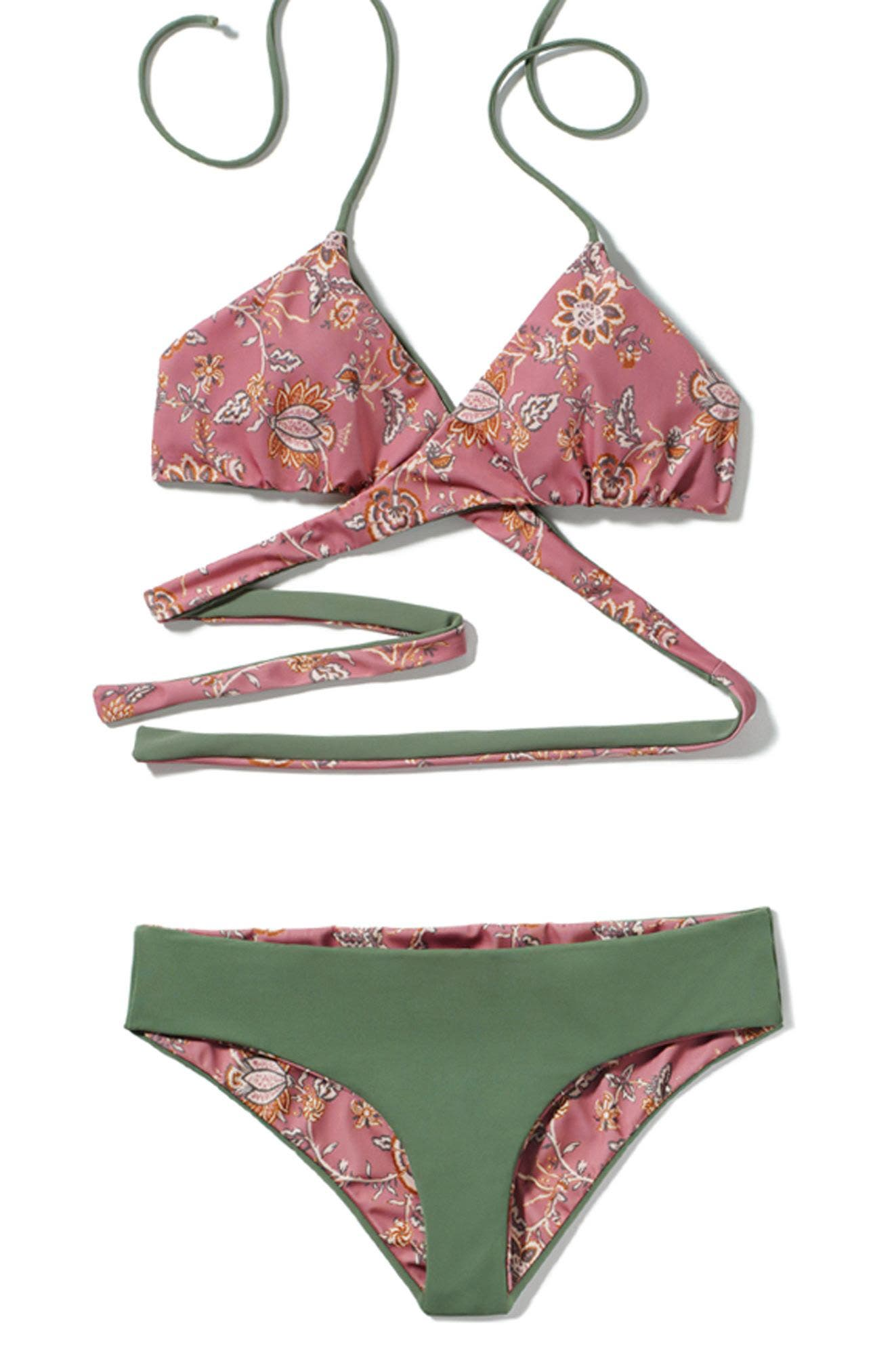 Alternate Image 8  - Leith Side Tie Bikini Bottoms