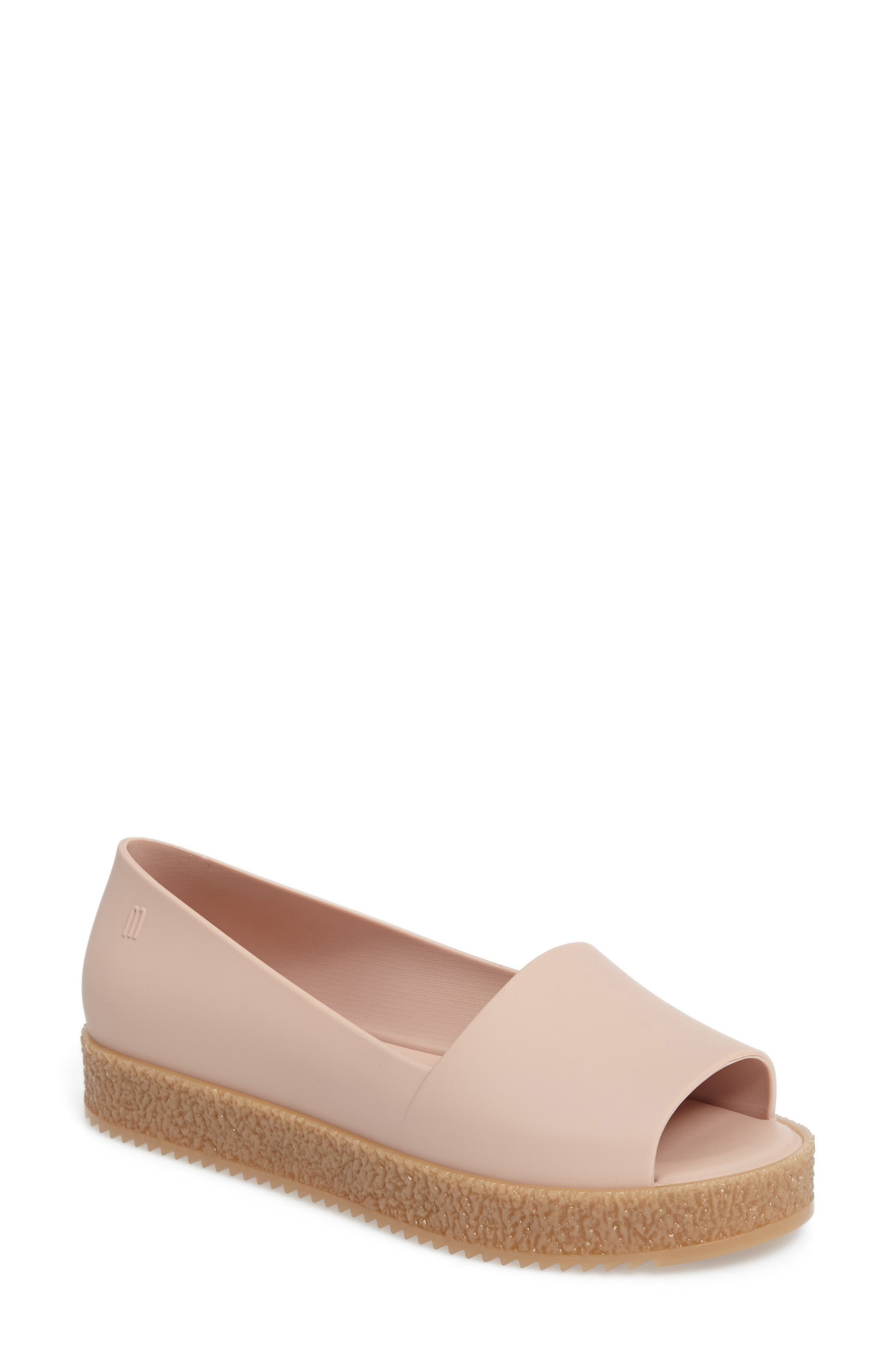 Melissa Puzzle Open Toe Slip-On Wedge (Women)