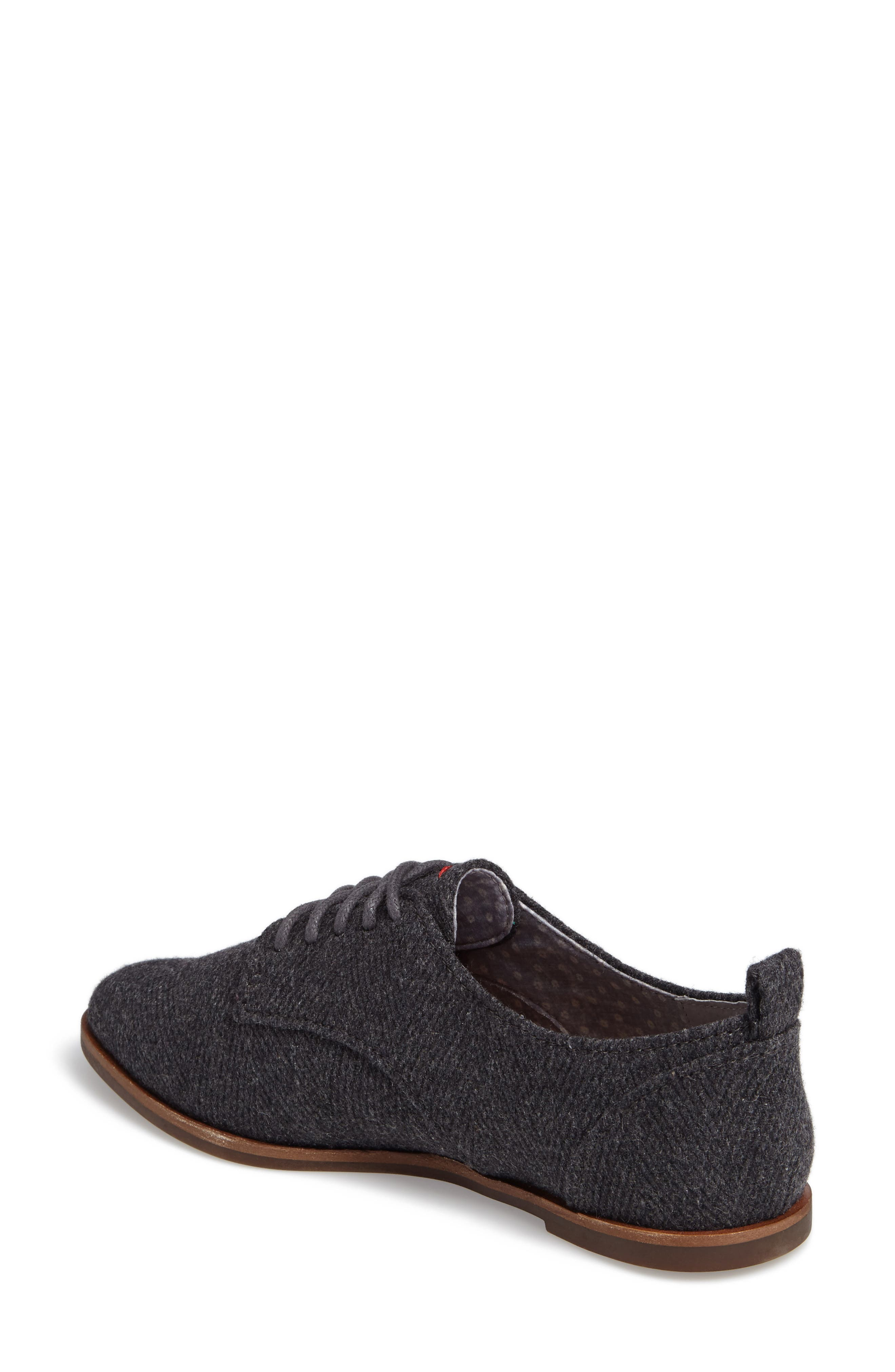 Kerrin Oxford,                             Alternate thumbnail 2, color,                             Grey Fabric