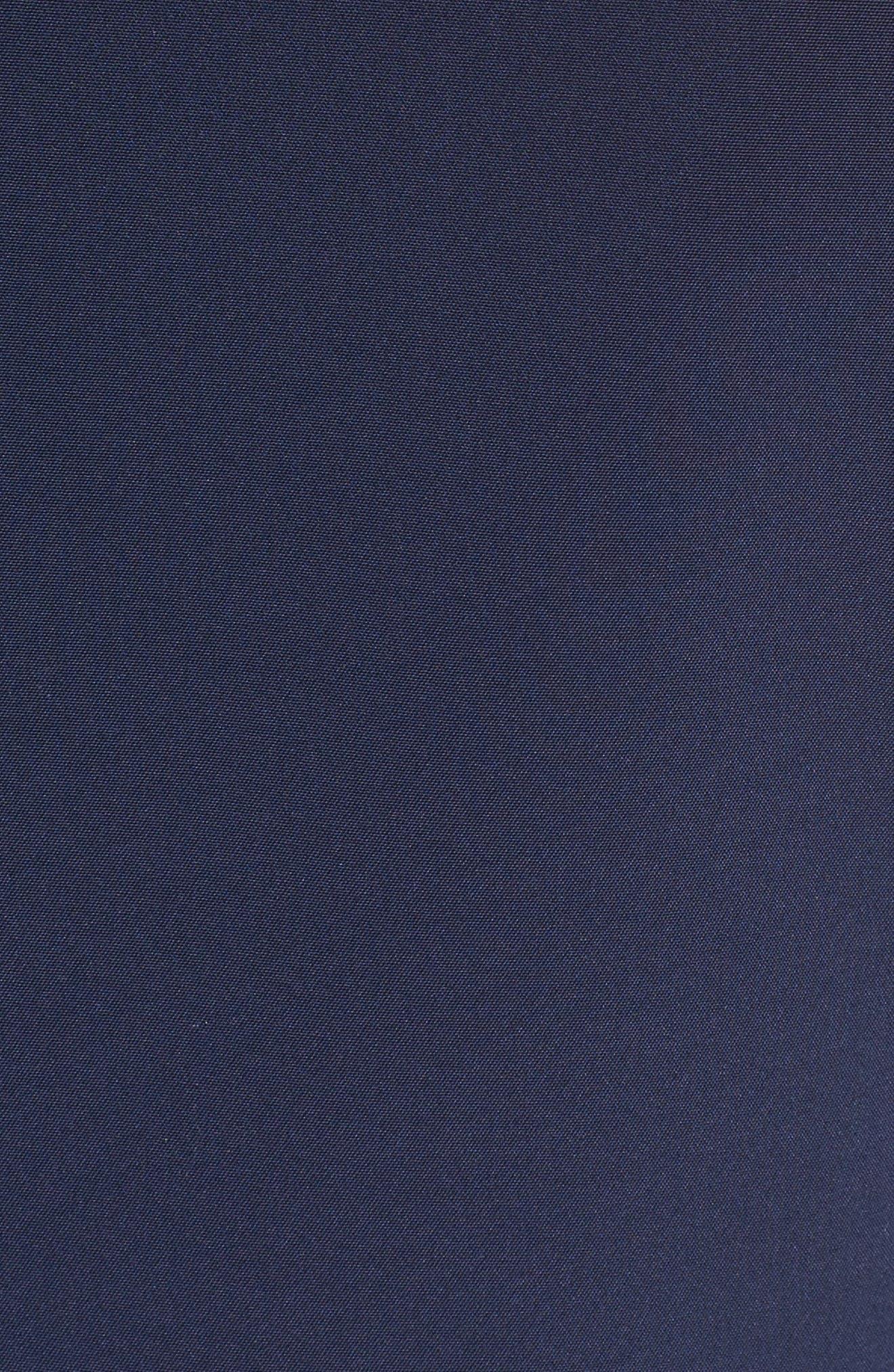 Alternate Image 3  - Lafayette 148 New York Tamera Perforated Fit & Flare Dress
