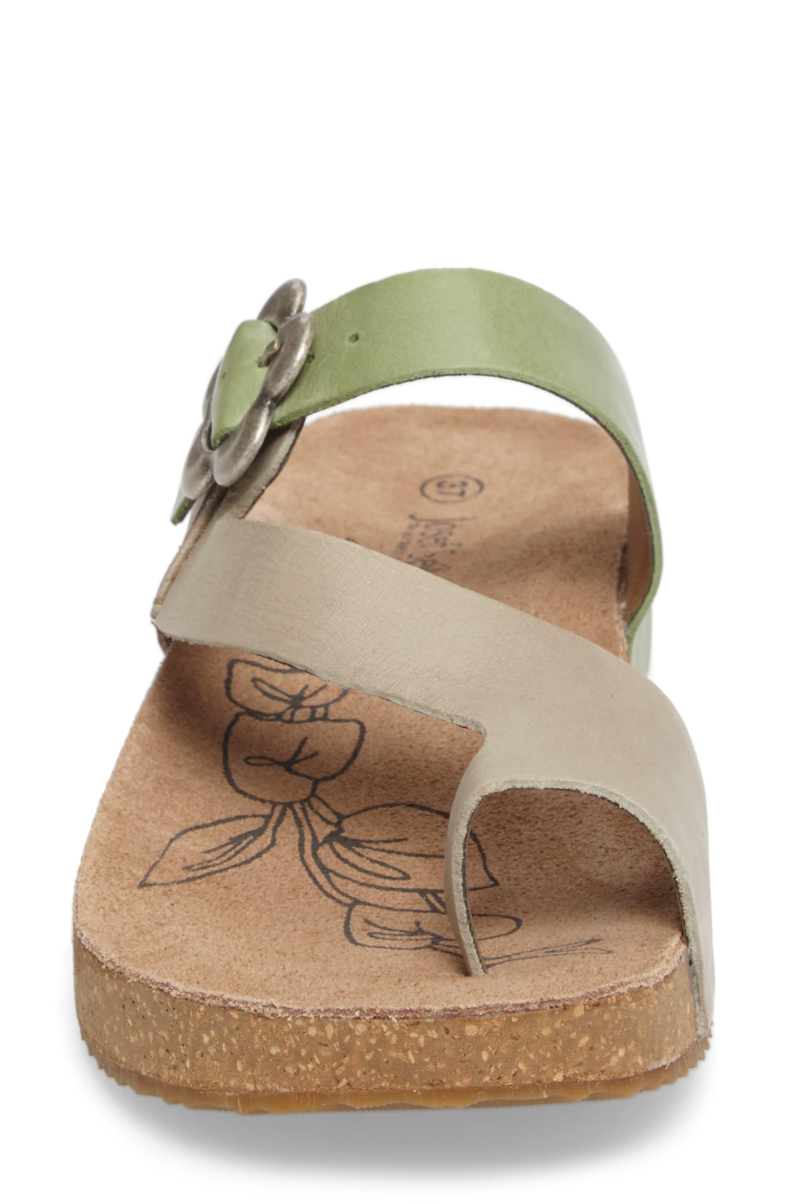 Tonga 23 Sandal,                             Alternate thumbnail 4, color,                             Grey Multi Leather