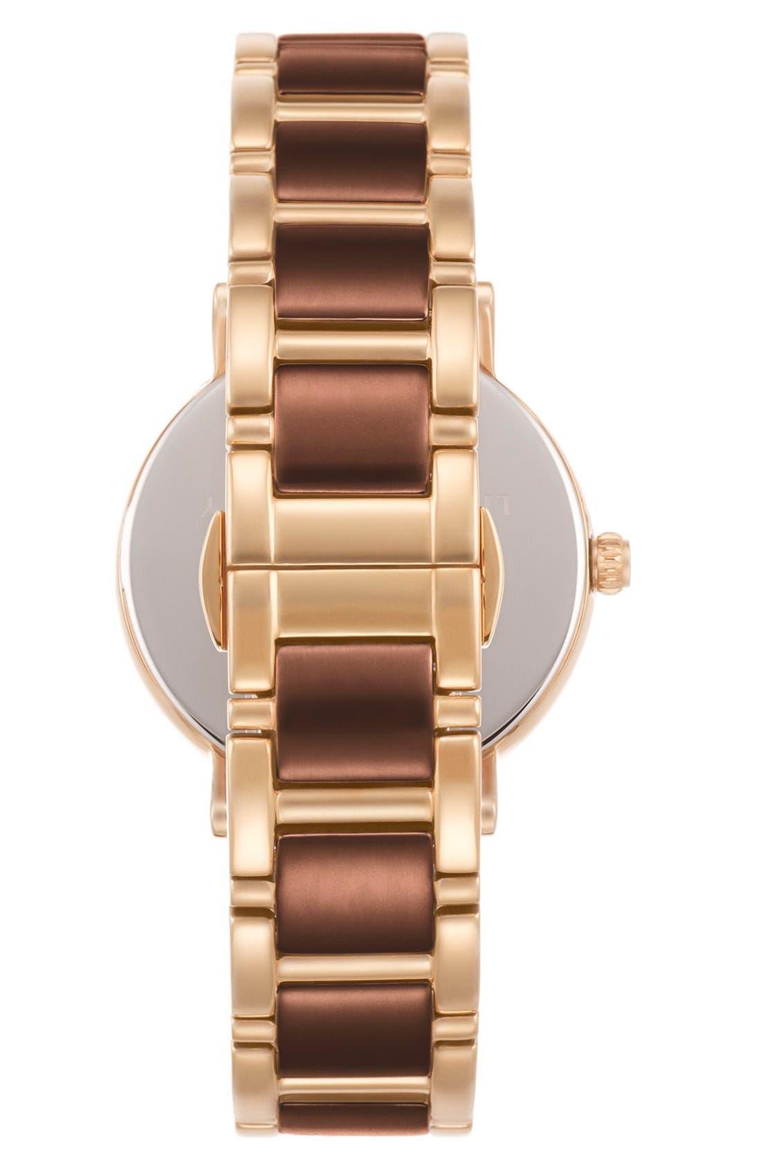Alternate Image 2  - kate spade new york 'gramercy' dot dial bracelet watch, 34mm
