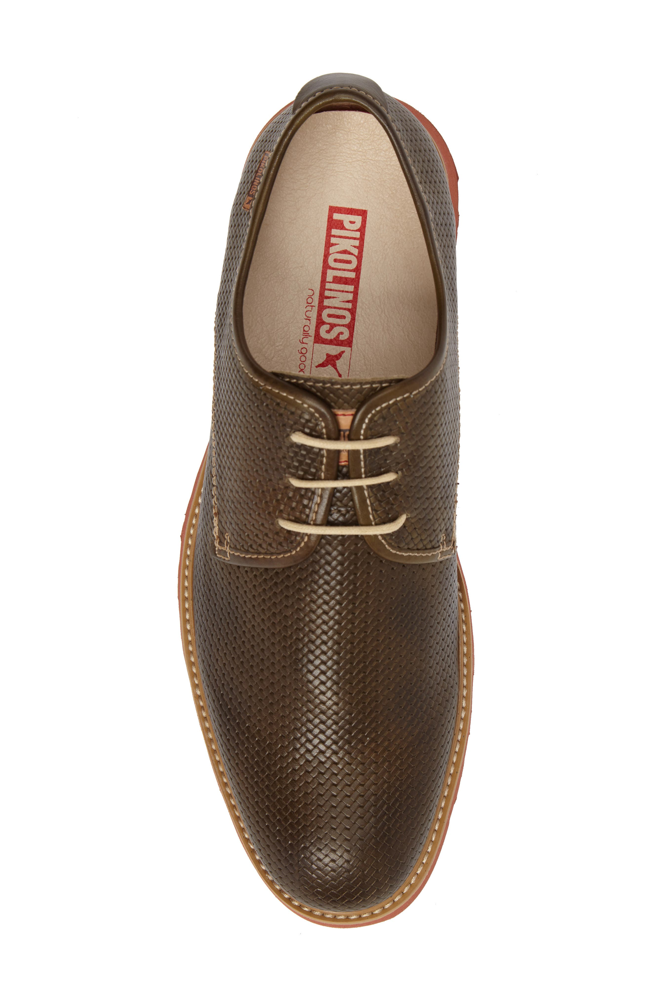 Alternate Image 5  - PIKOLINOS Glasgow Plain Toe Derby (Men)