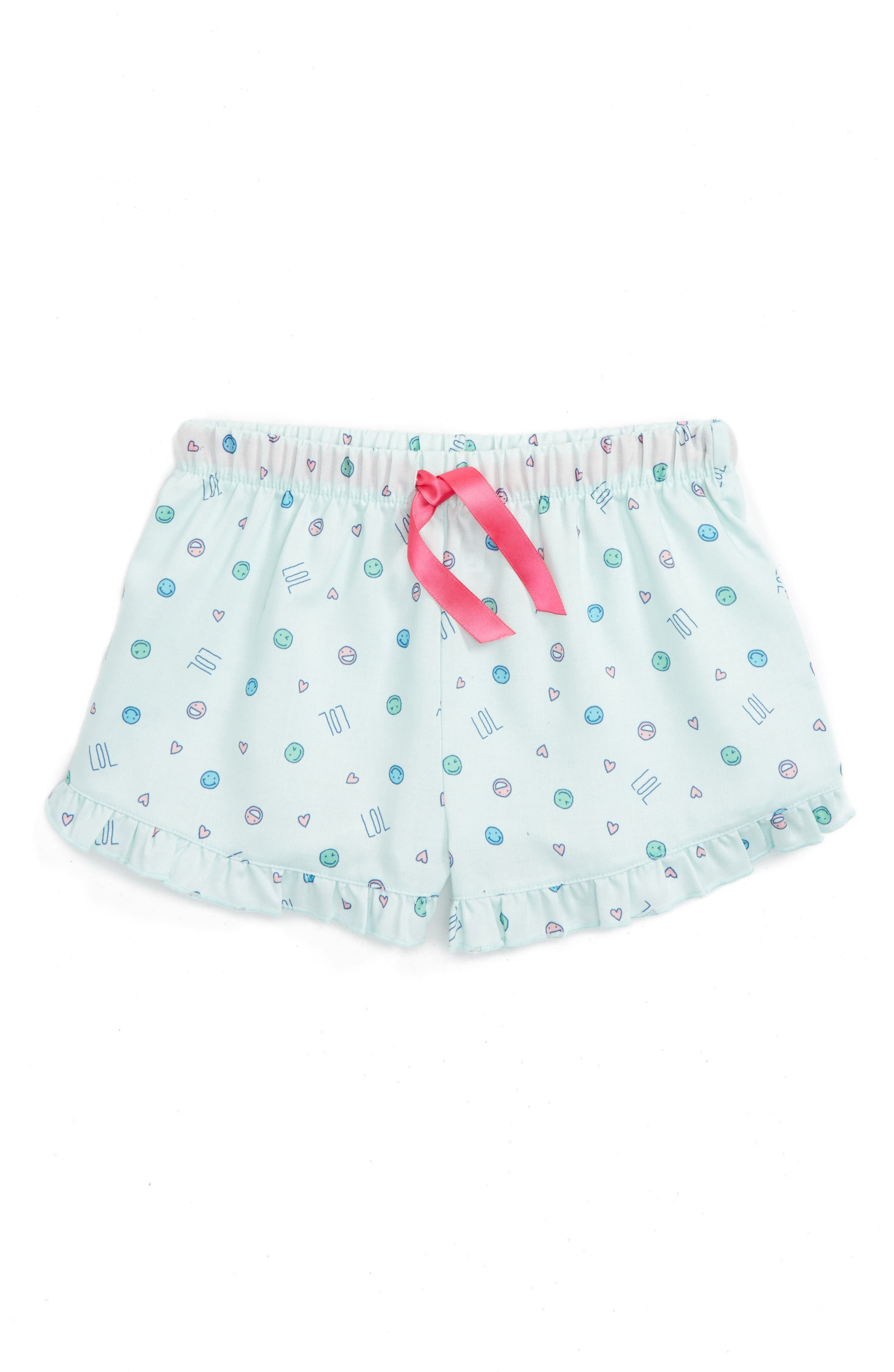 Alternate Image 1 Selected - Tucker + Tate Flannel Shorts (Big Girls)