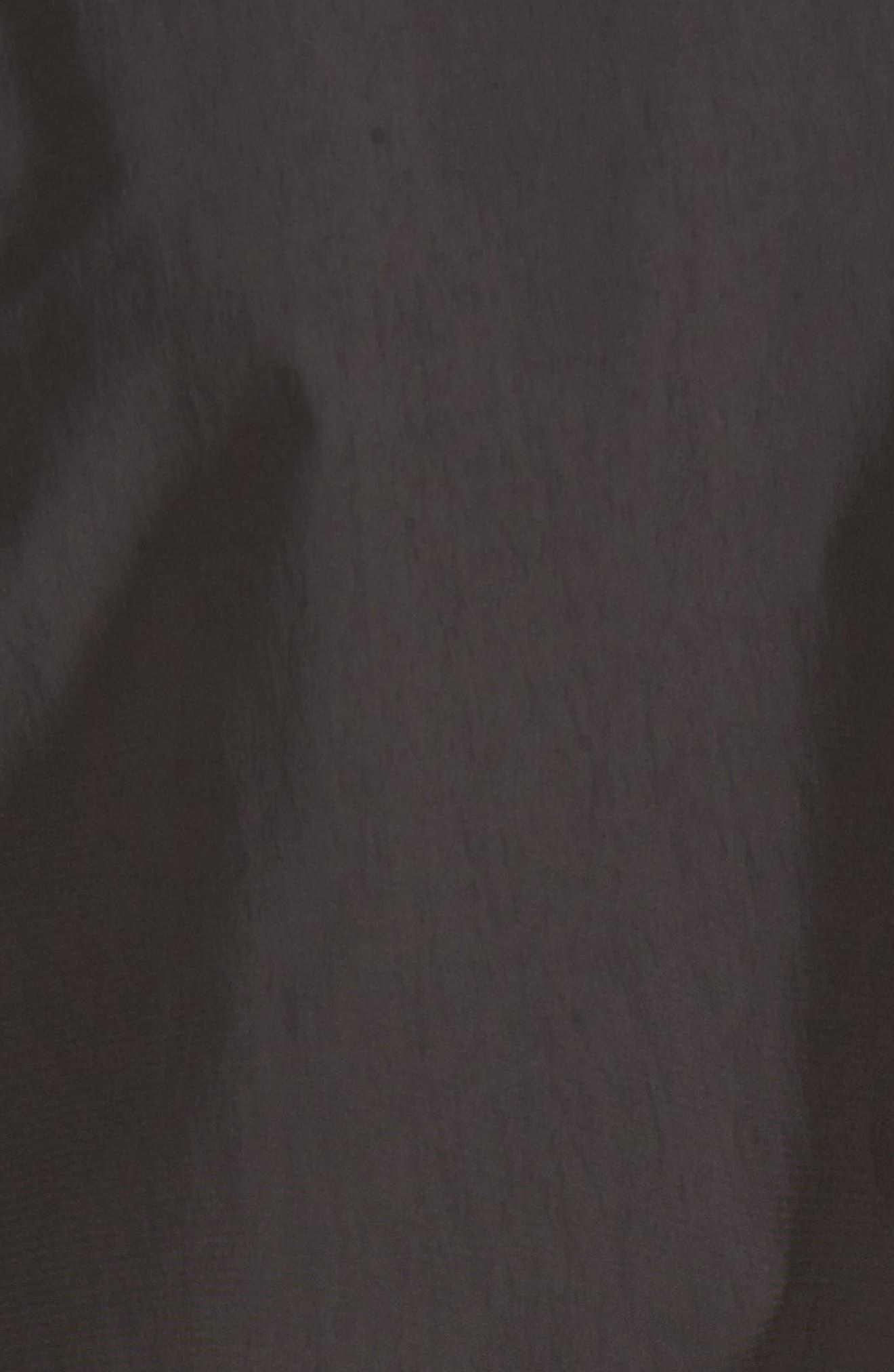 John Rich Shore Bomber Jacket,                             Alternate thumbnail 5, color,                             Faded Black