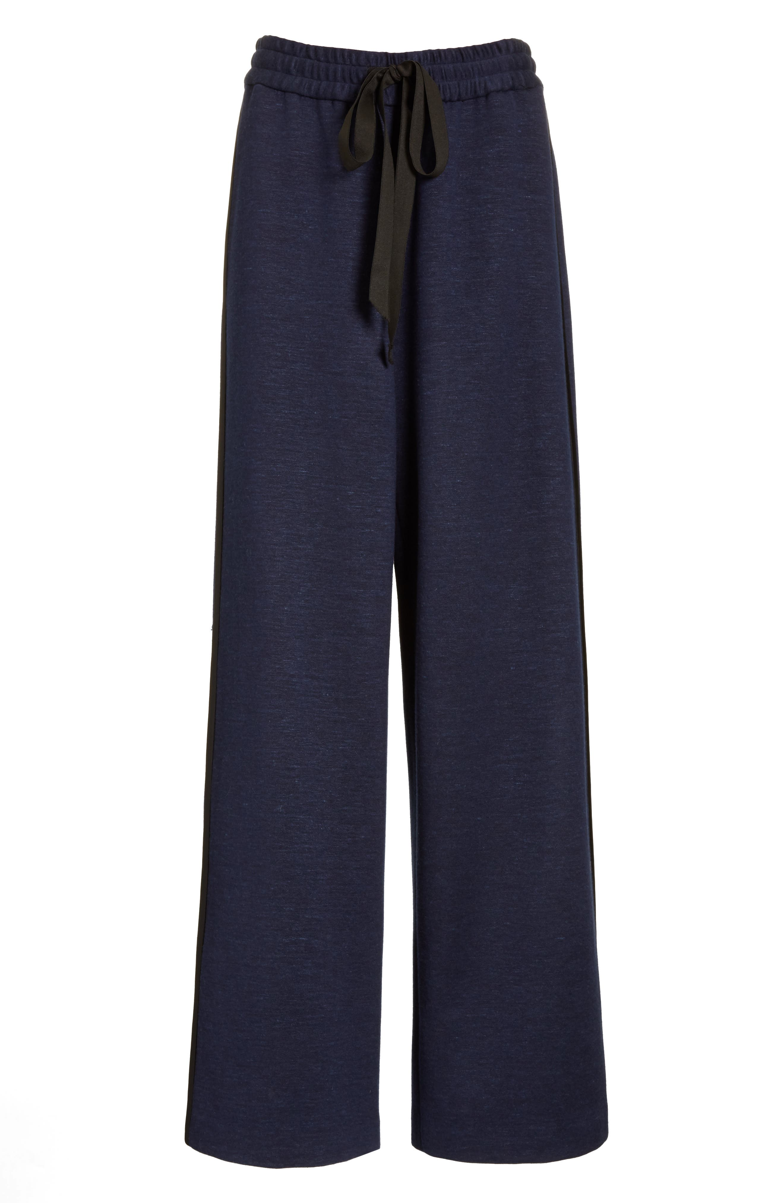 Alternate Image 4  - Adam Lippes Jersey Wide Leg Drawstring Pants
