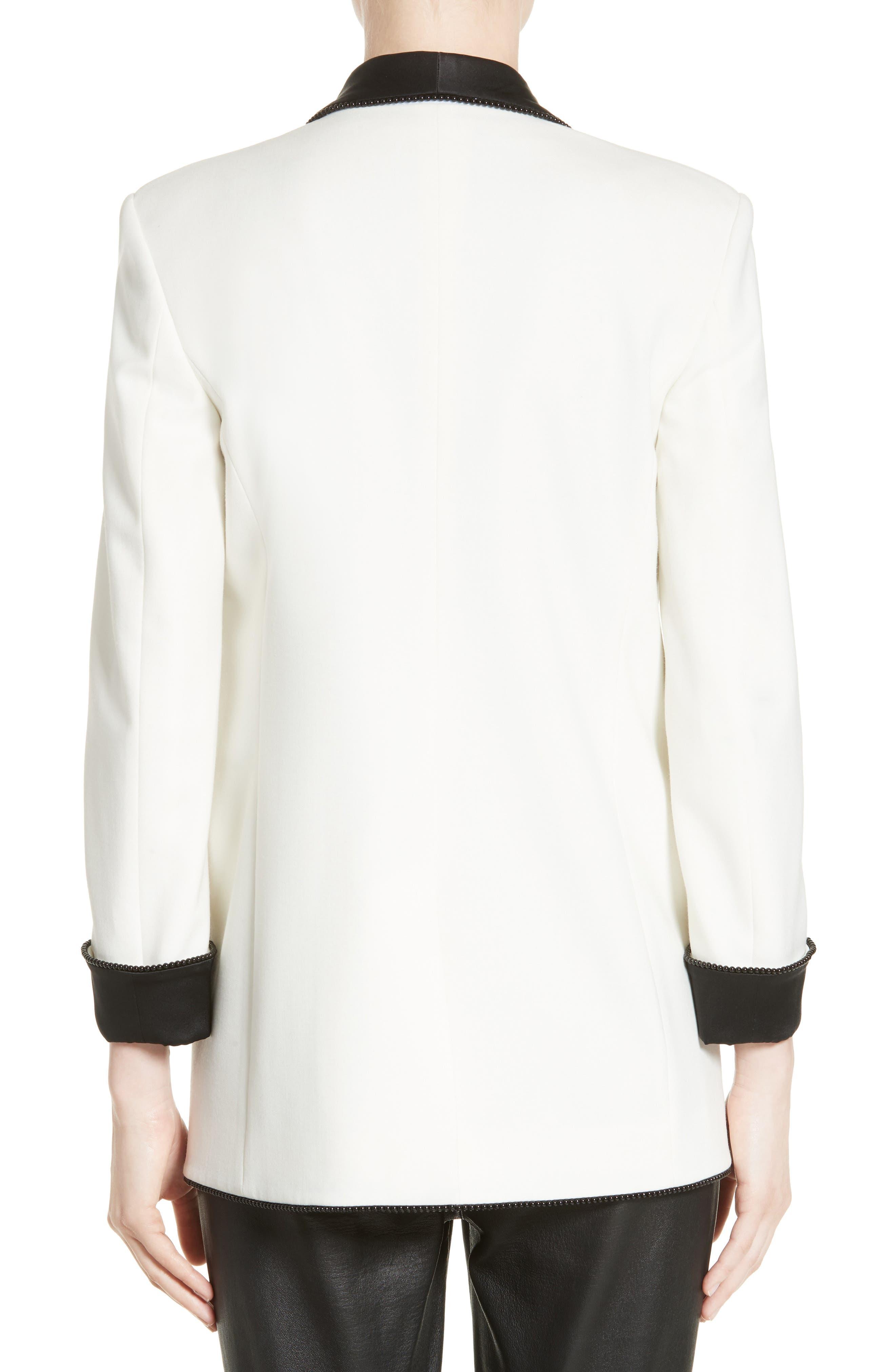 Alternate Image 2  - Alexander Wang Chain Trim Tuxedo Blazer