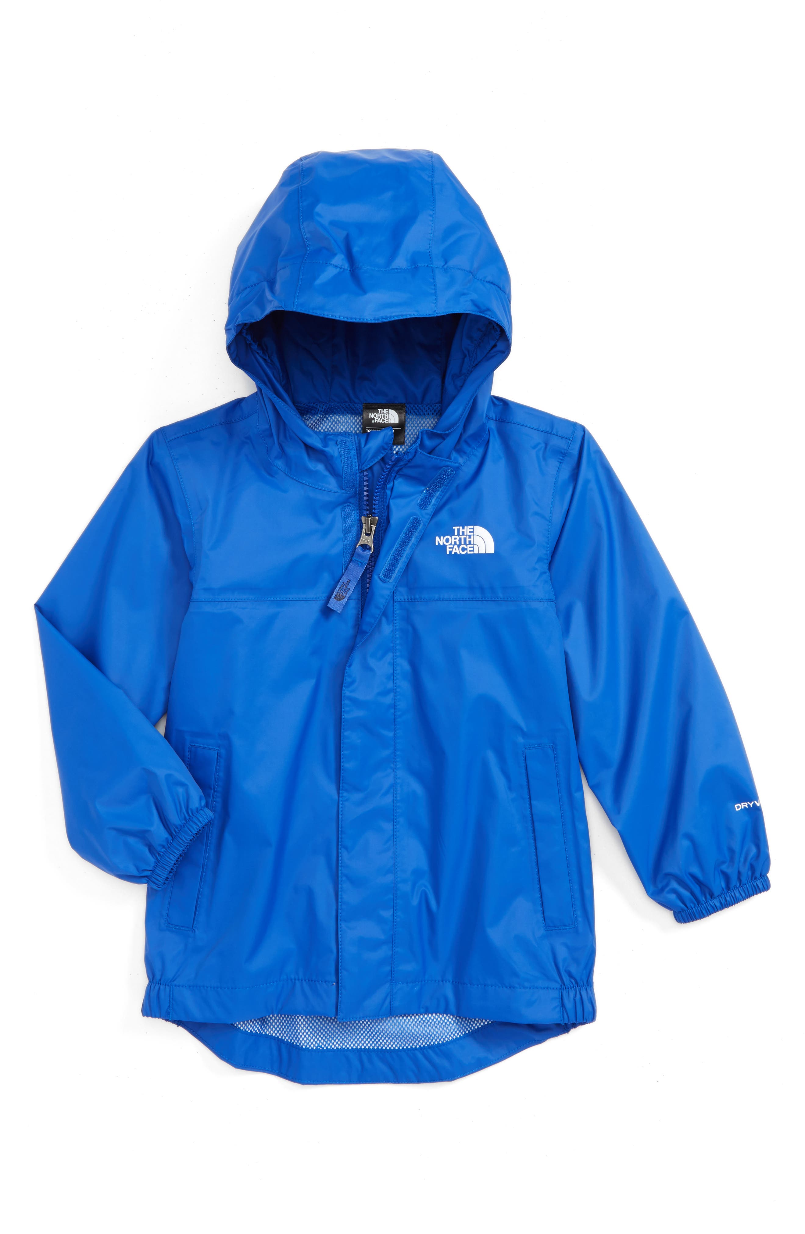 Main Image - The North Face Tailout Waterproof/Windproof Hooded Rain Jacket (Toddler Boys & Little Boys)