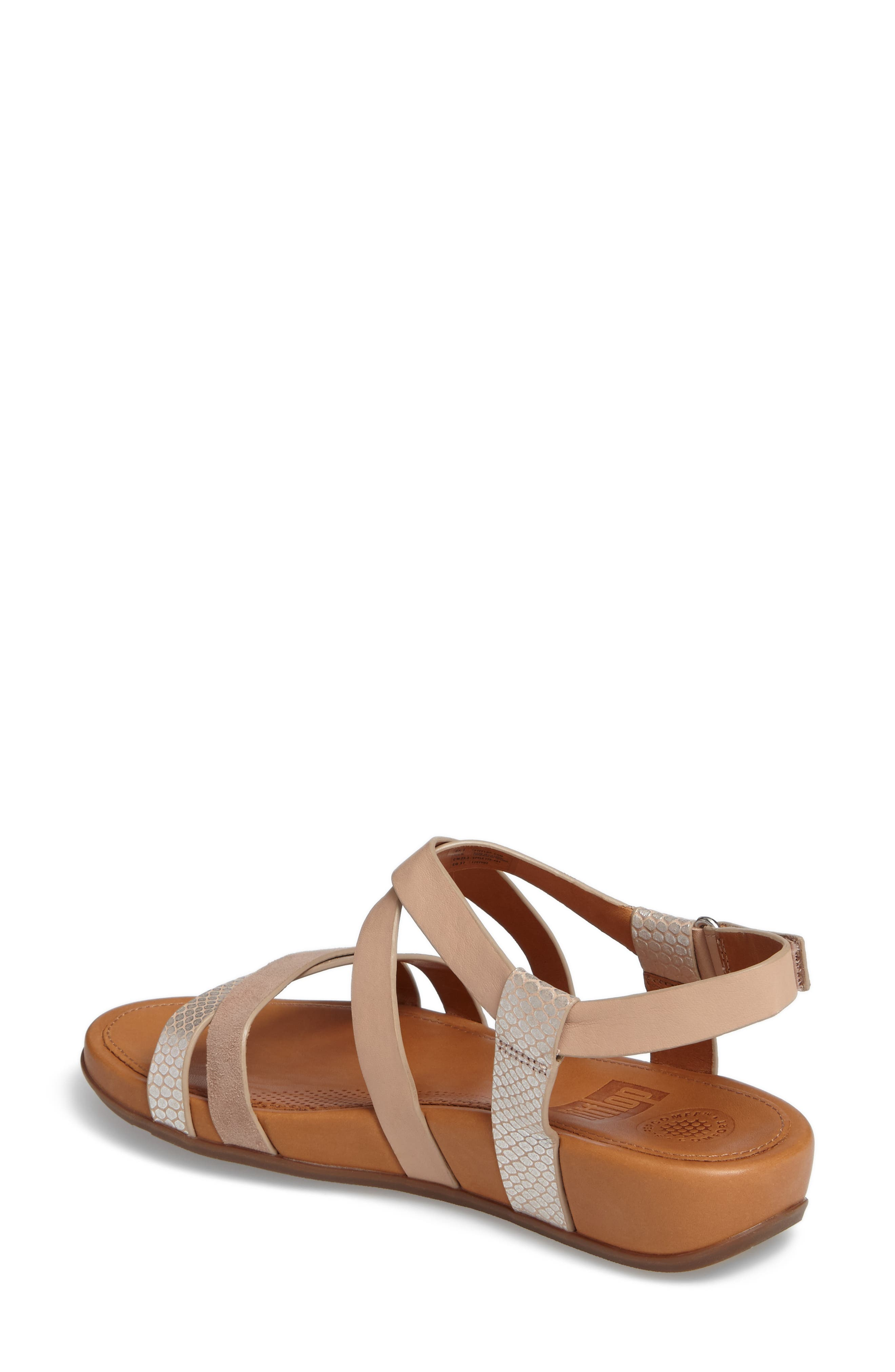 Alternate Image 2  - FitFlop Lumy Crisscross Sandal (Women)
