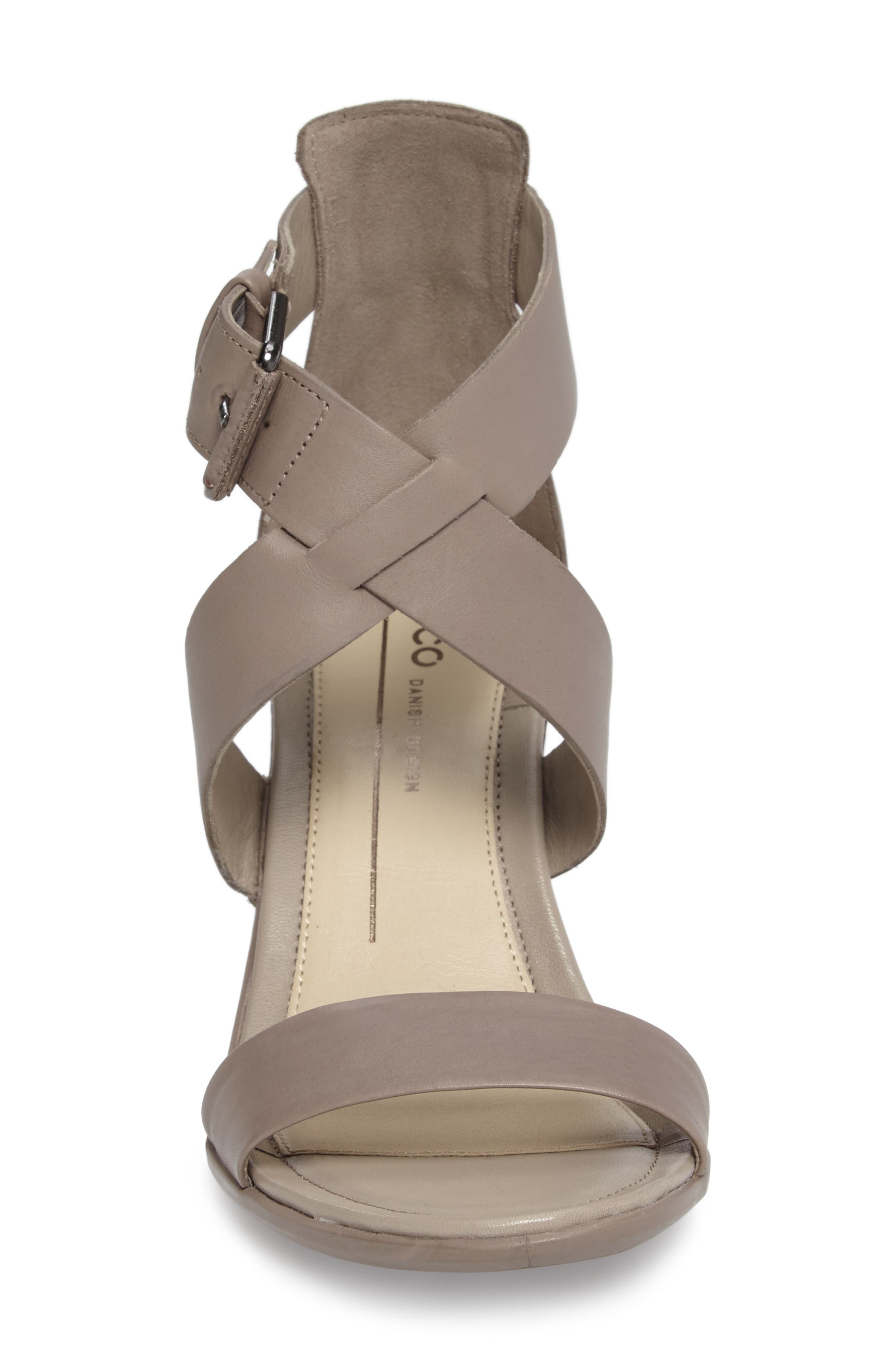 Touch 65 Sandal,                             Alternate thumbnail 4, color,                             Moon Rock Leather