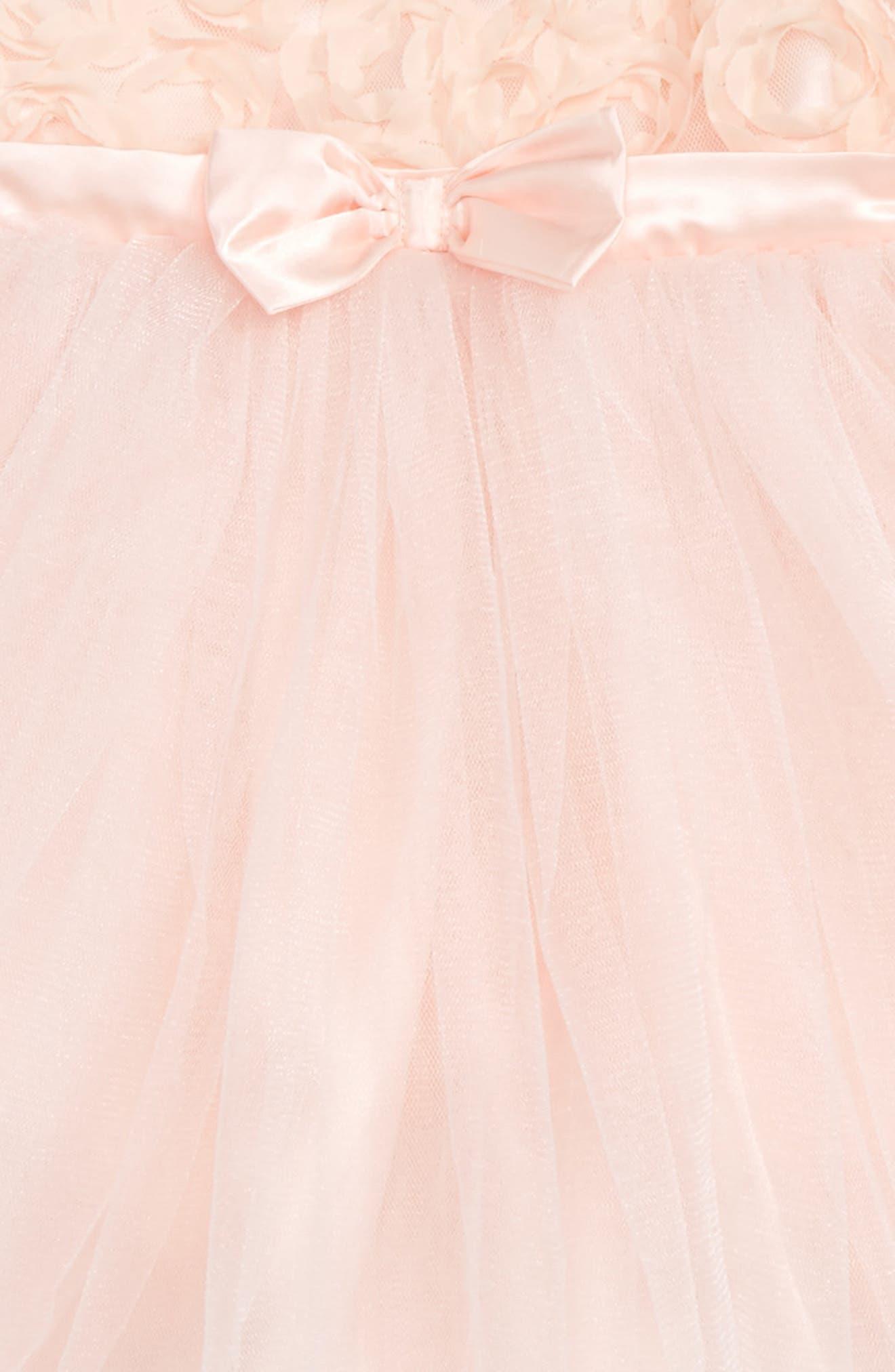 Sleeveless Tulle Dress,                             Alternate thumbnail 2, color,                             Pink